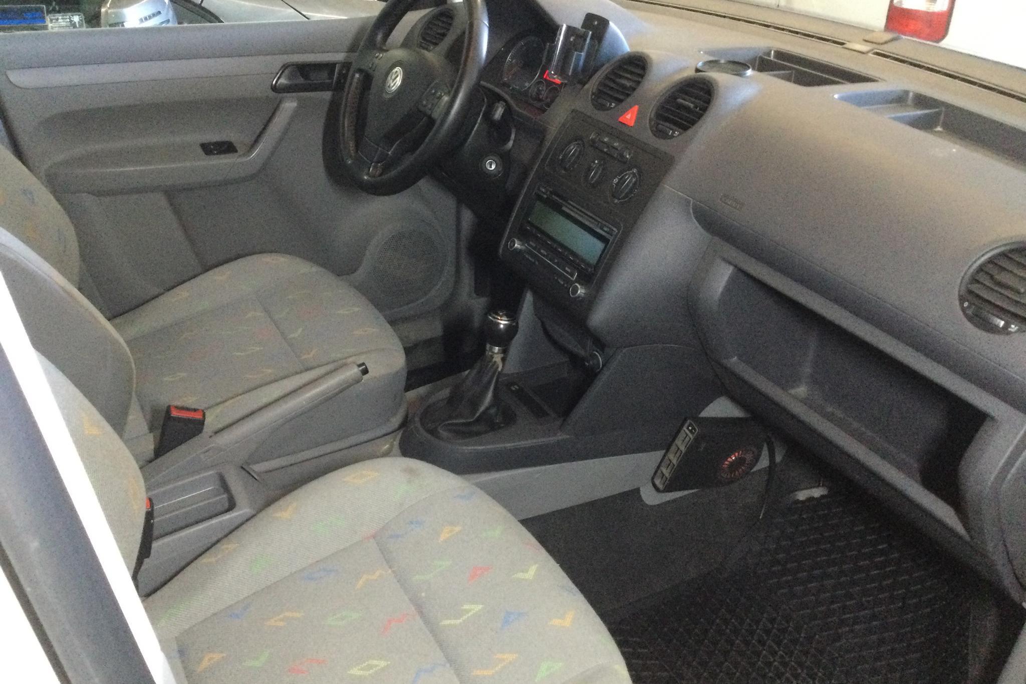 VW Caddy 1.9 TDI Skåp 4motion (105hk) - 22 377 mil - Manuell - vit - 2010