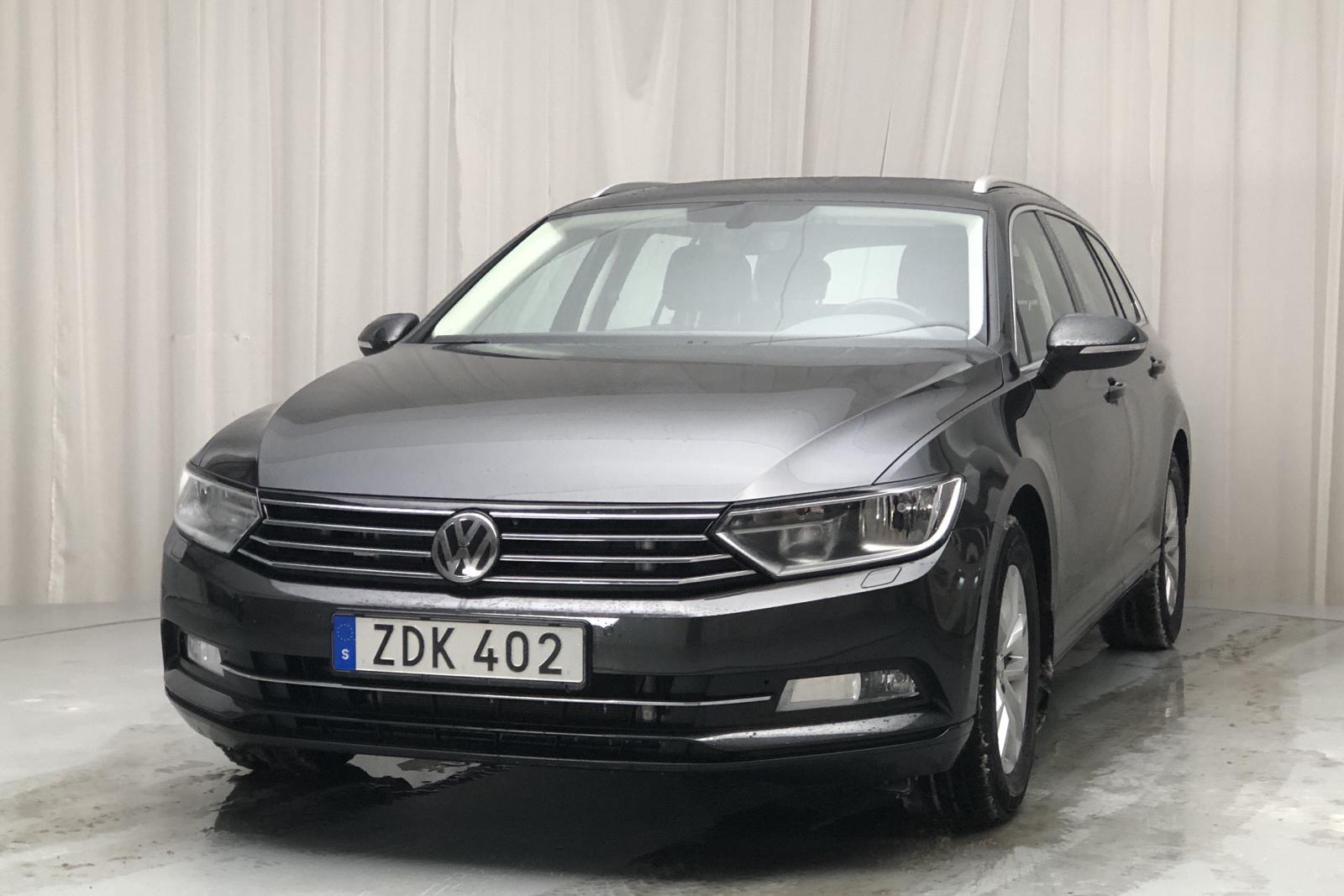 VW Passat 1.4 TSI Sportscombi (150hk) - 4 147 mil - Automat - Dark Grey - 2018
