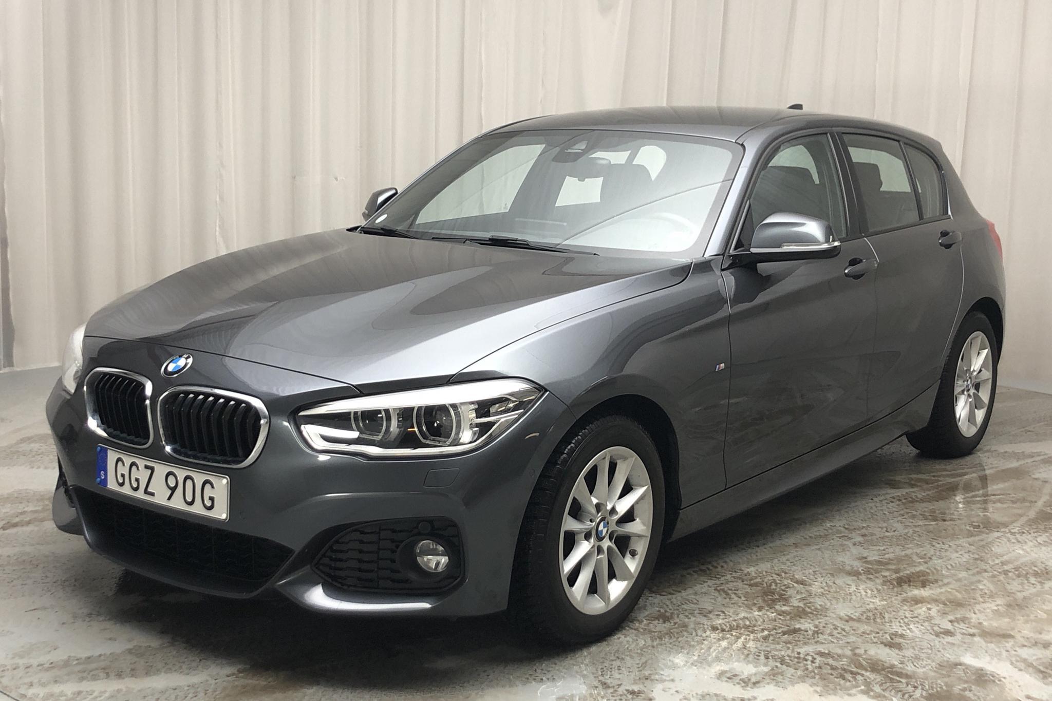 BMW 120i 5dr, F20 (184hk) - 2 286 mil - Automat - grå - 2019