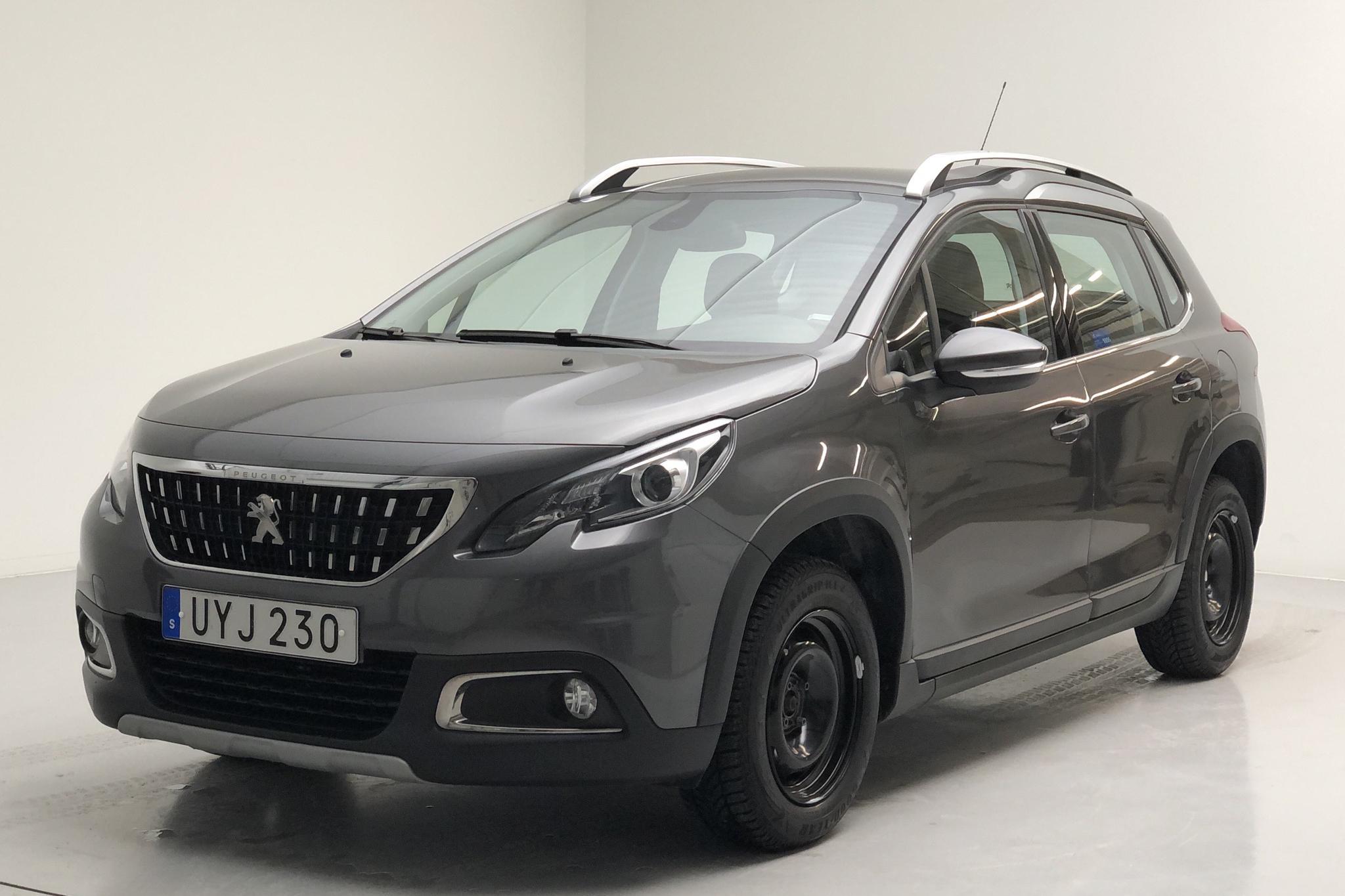 Peugeot 2008 1.2 VTi (82hk) - 3 302 mil - Manuell - Dark Grey - 2018