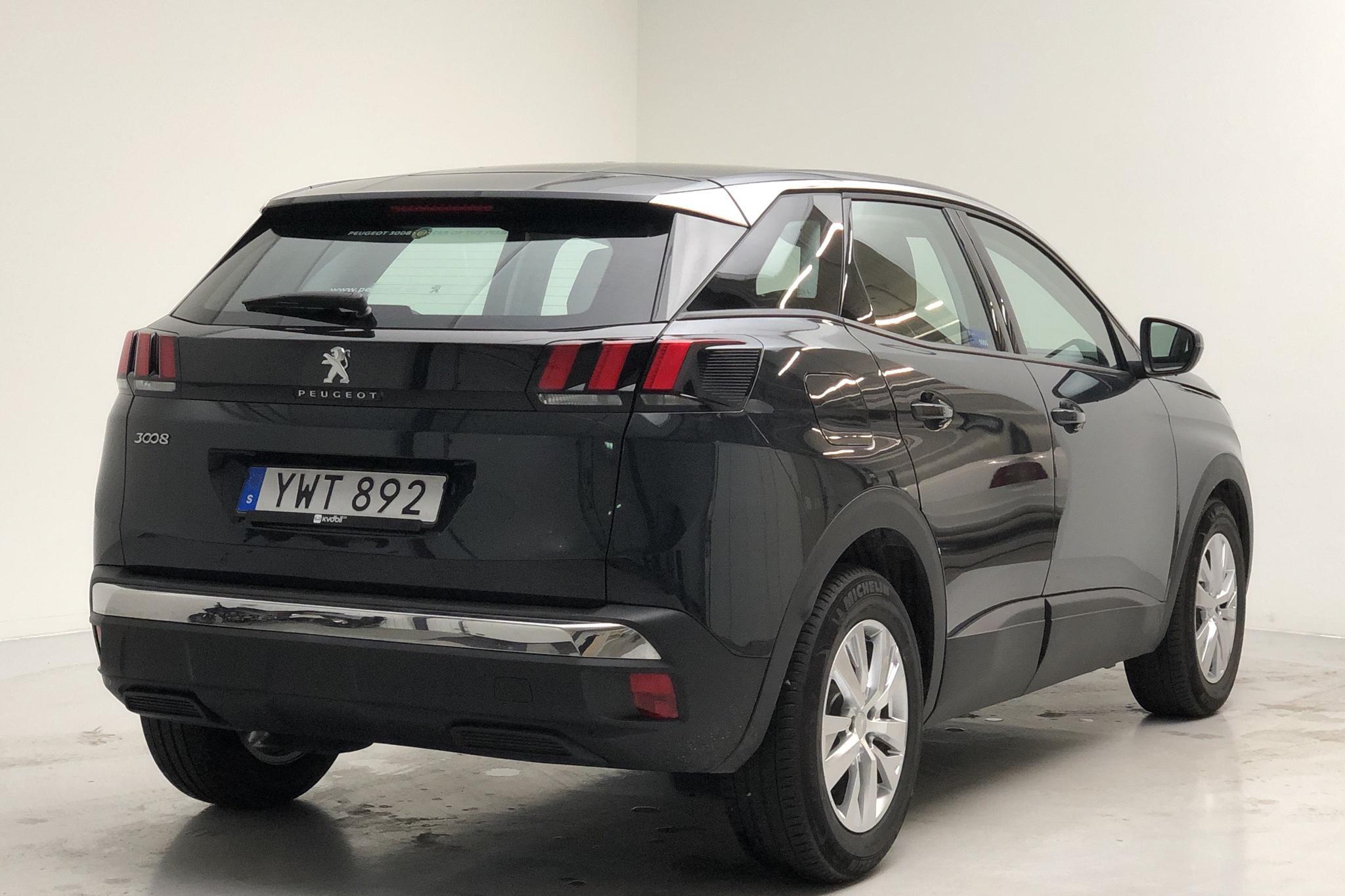 Peugeot 3008 1.2 PureTech (130hk) - 2 022 mil - Automat - 2018
