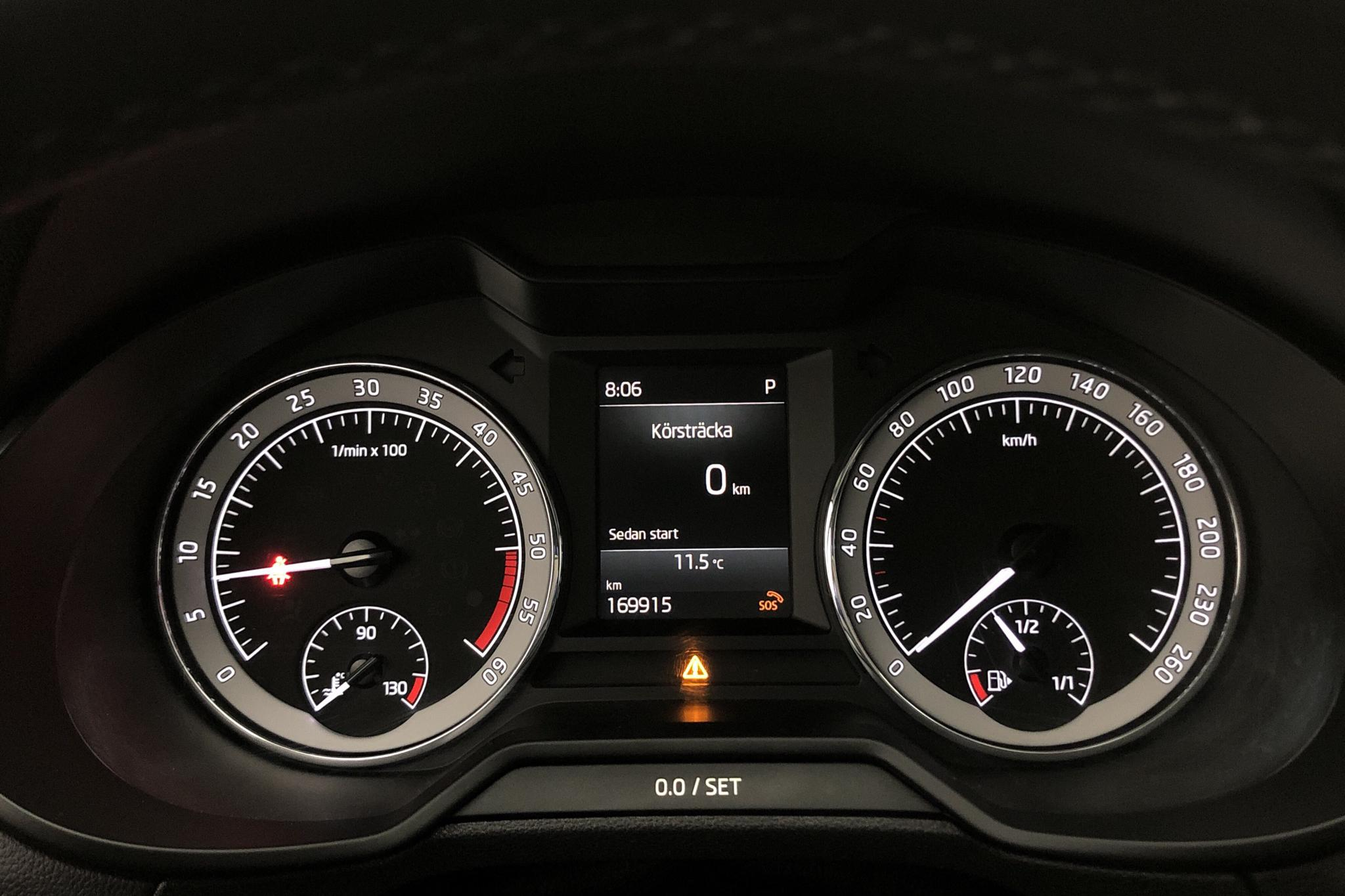 Skoda Octavia III 2.0 TDI CR Combi (150hk) - 169 910 km - Automatic - red - 2018