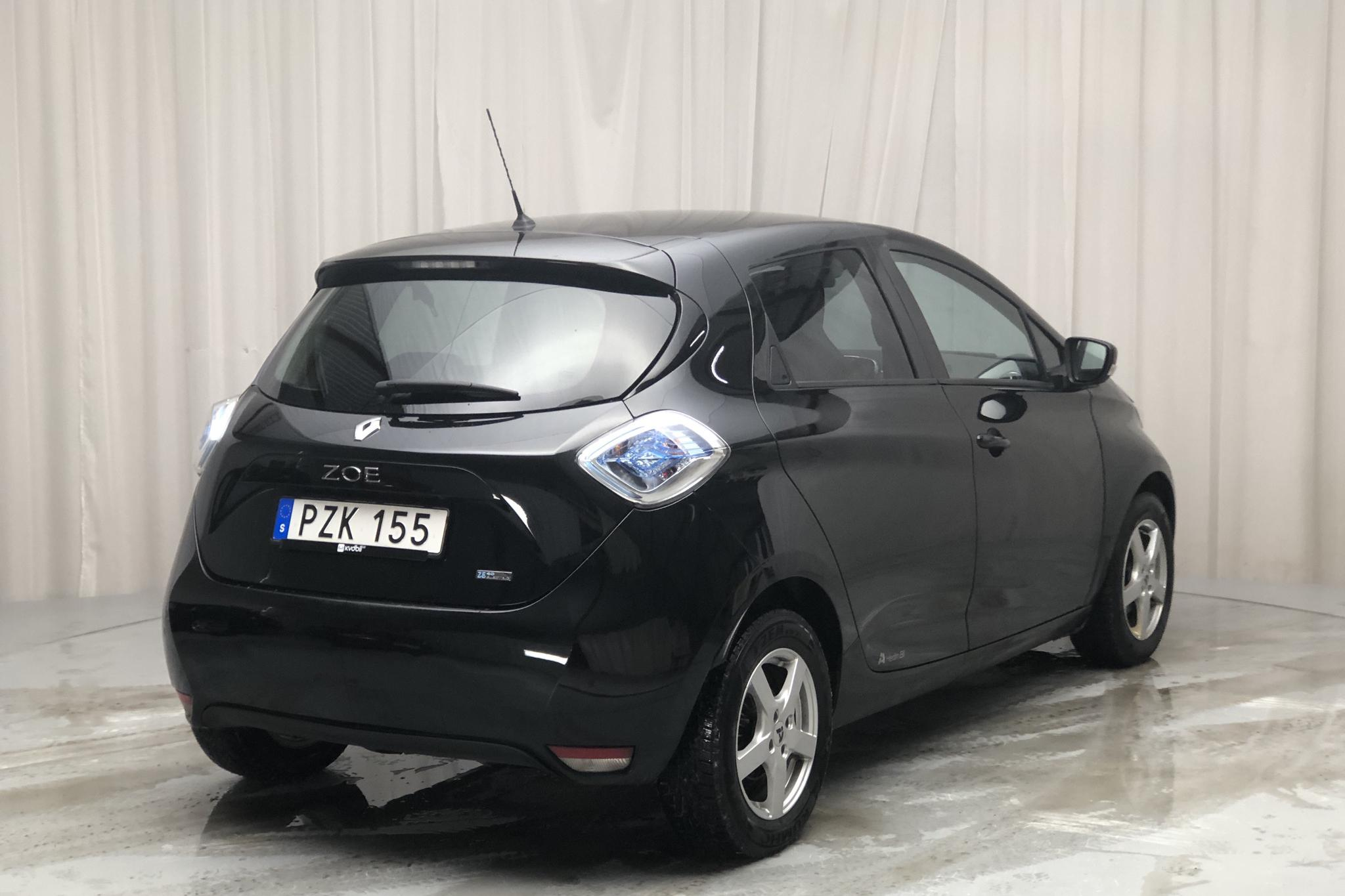Renault Zoe 41 kWh R90 (92hk) - 105 470 km - Automatic - black - 2017