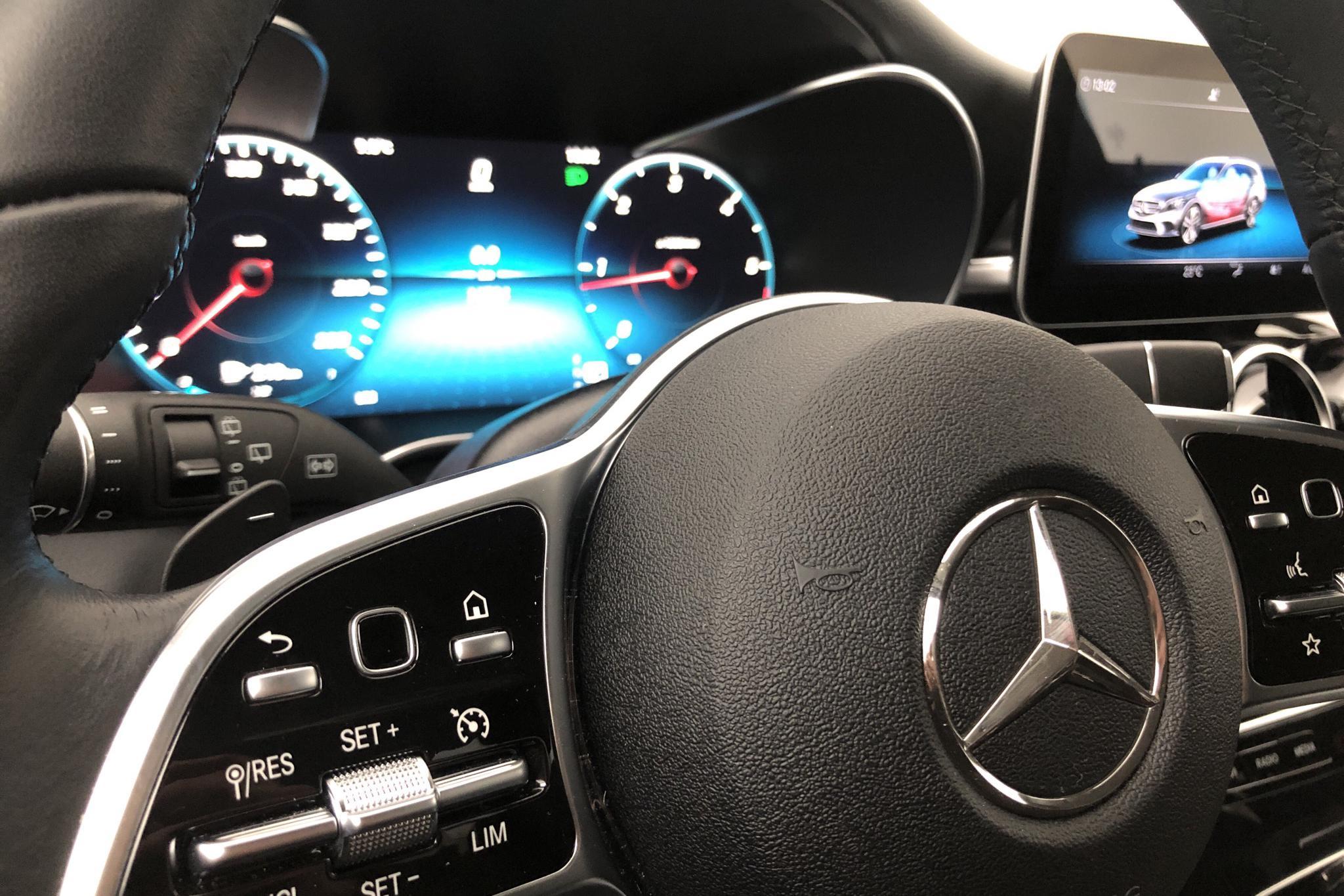 Mercedes C 200 d Kombi S205 (160hk) - 1 478 mil - Automat - vit - 2019