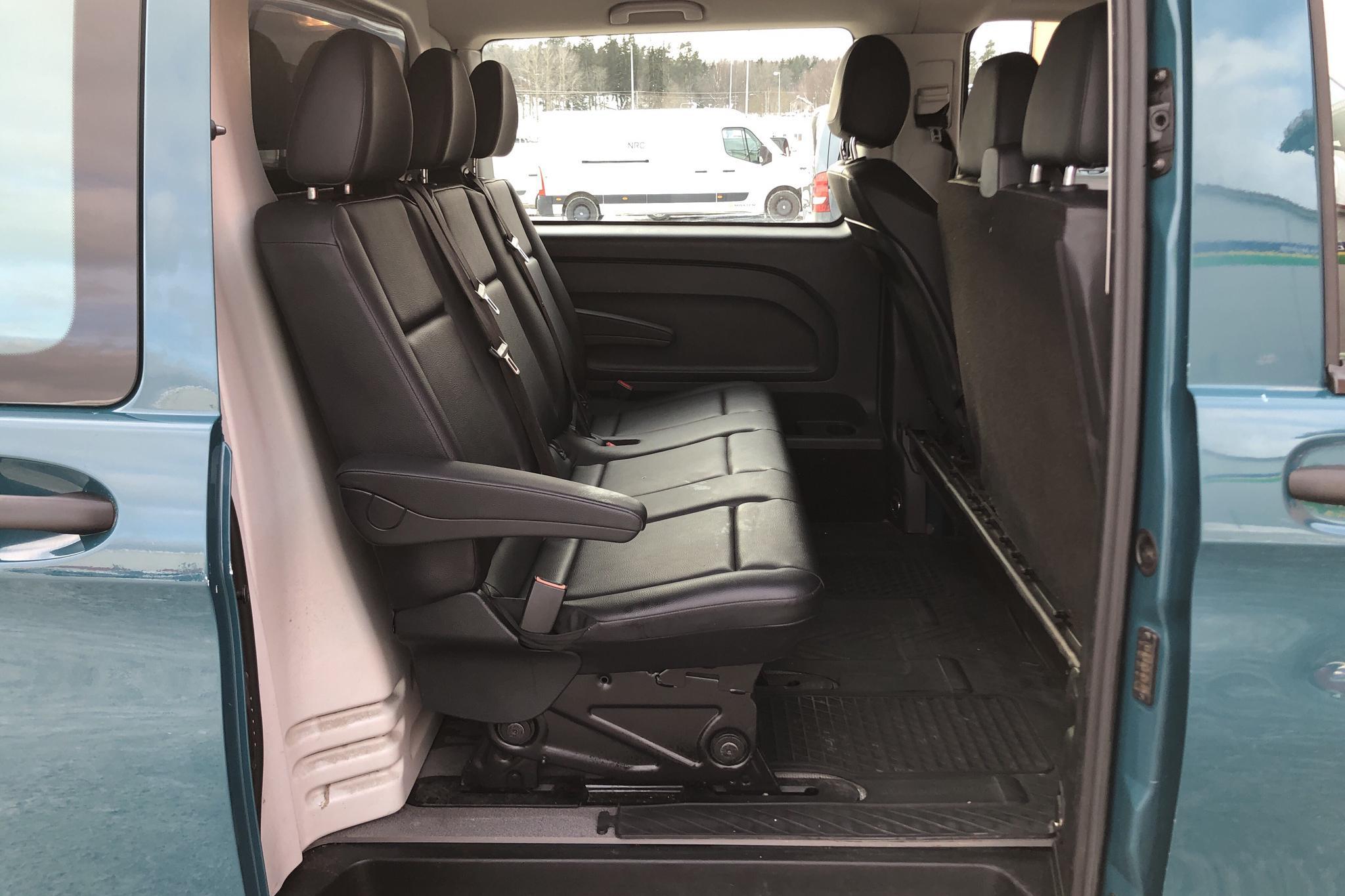 Mercedes Vito 119 BlueTEC 4x4 W640 (190hk) - 194 400 km - Automatic - Dark Green - 2017