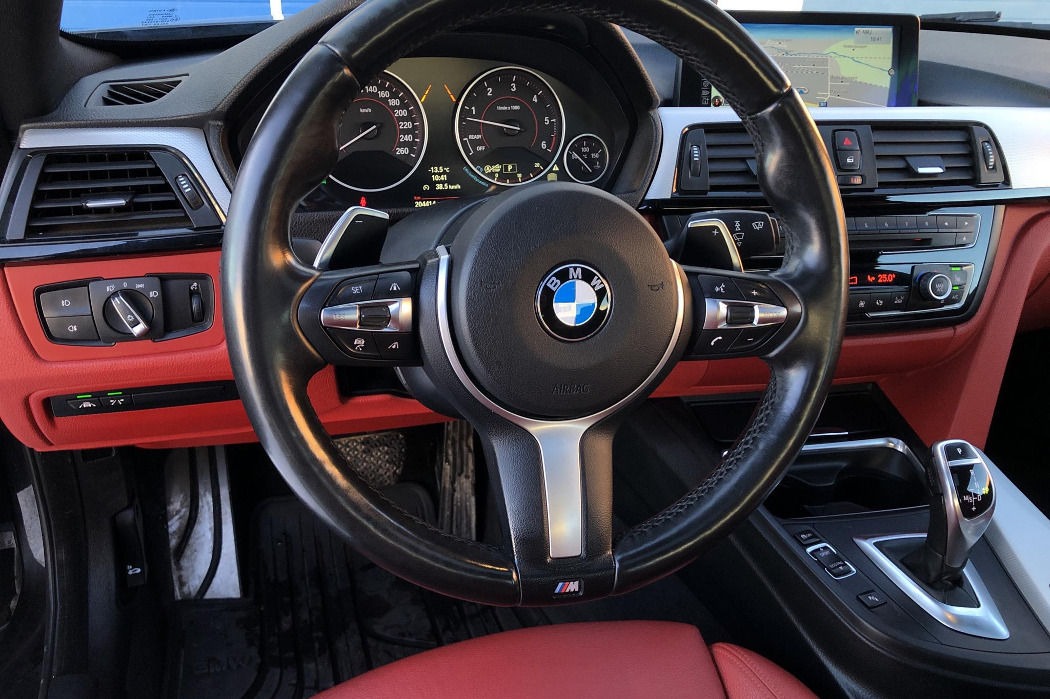 BMW 435d xDrive Coupé, F32 (313hk) - 204 430 km - Automatic - black - 2014