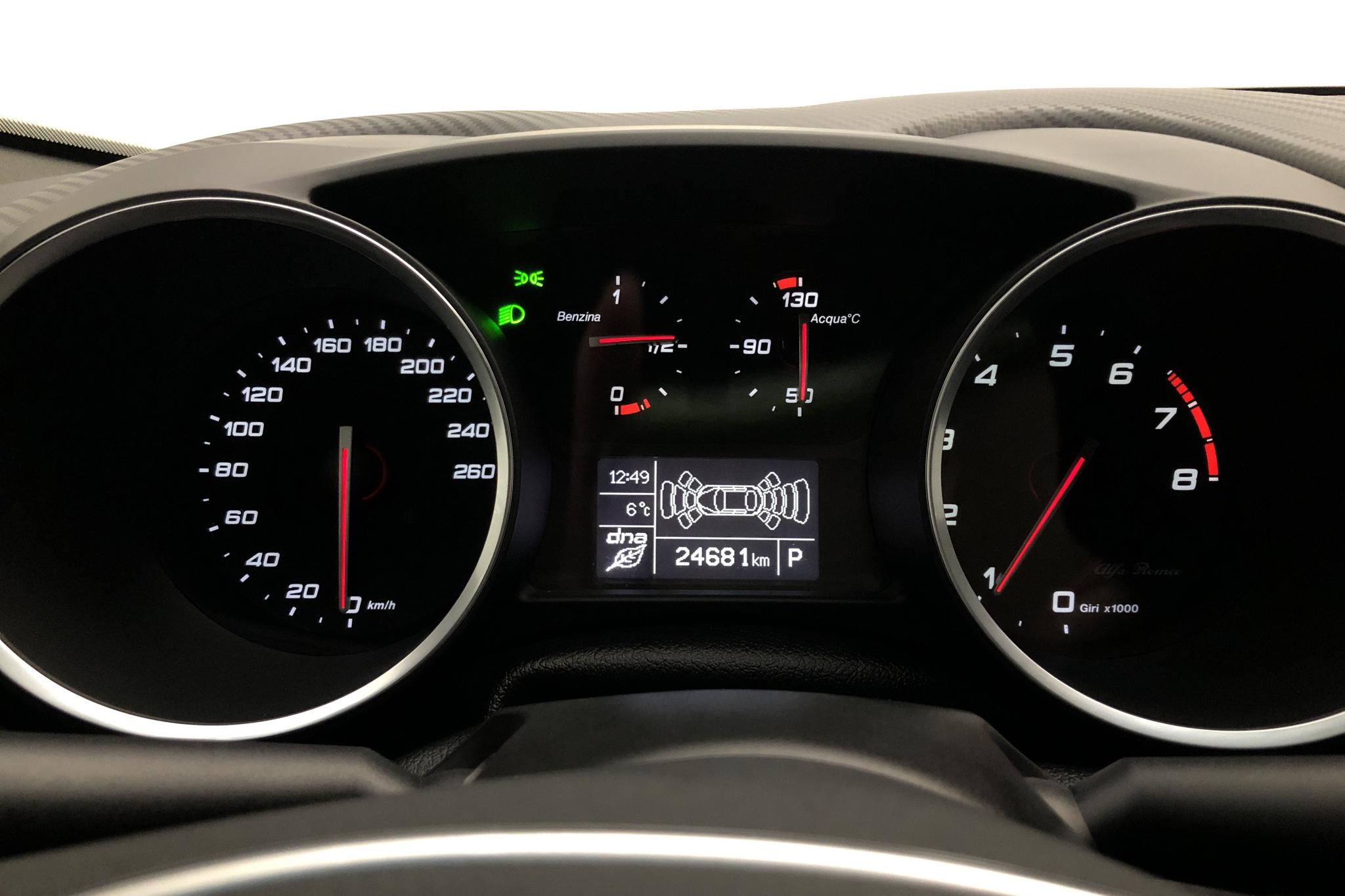 Alfa Romeo Giulietta 1.7 (240hk) - 24 680 km - Automatic - white - 2018