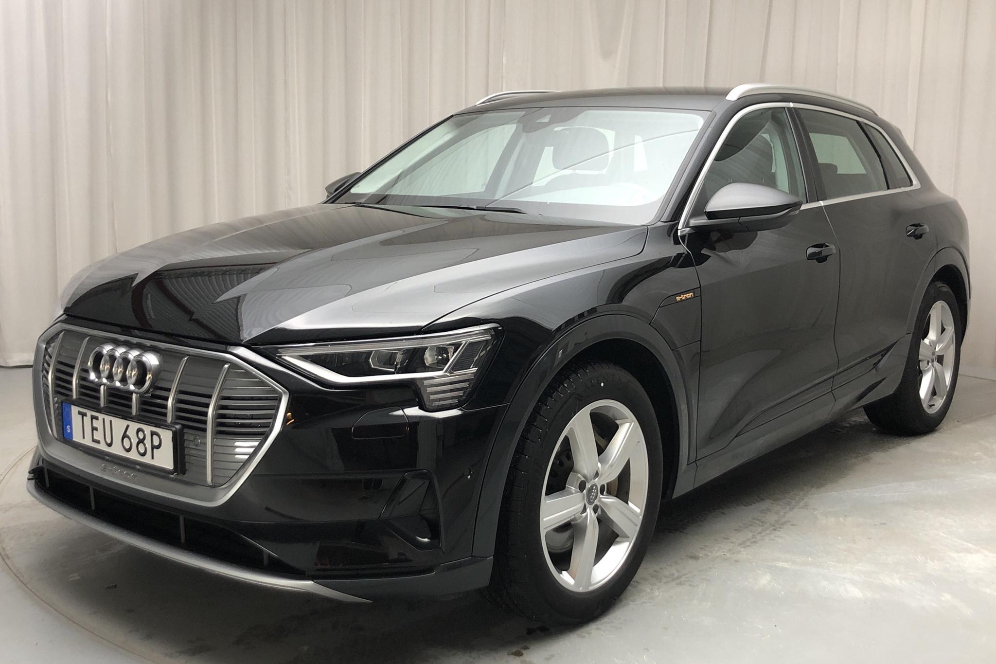Audi e-tron 50 quattro 71 kWh (288hk) - 2 243 mil - Automat - svart - 2020