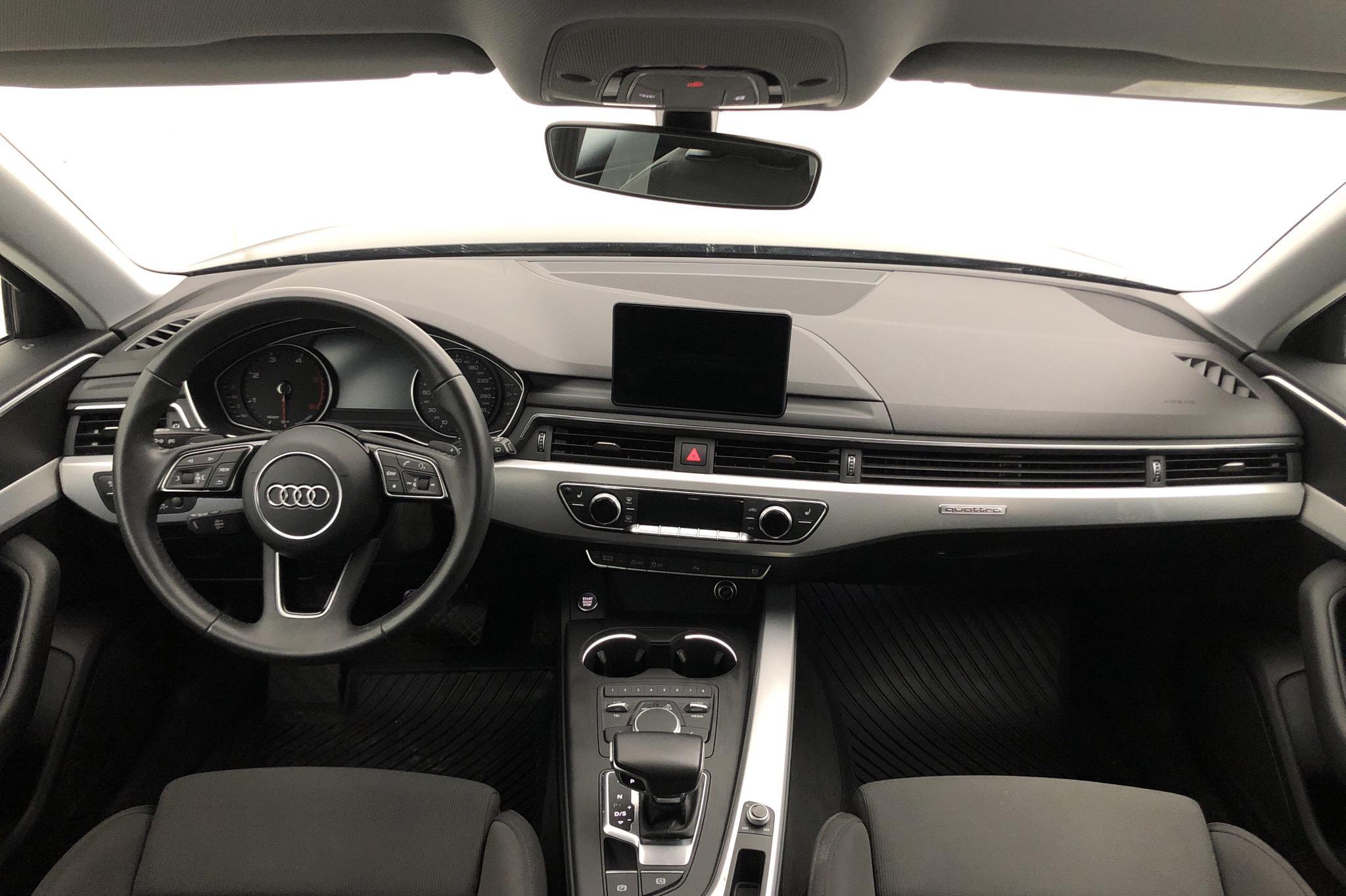 Audi A4 2.0 TDI Avant quattro (190hk) - 61 590 km - Automatic - black - 2017