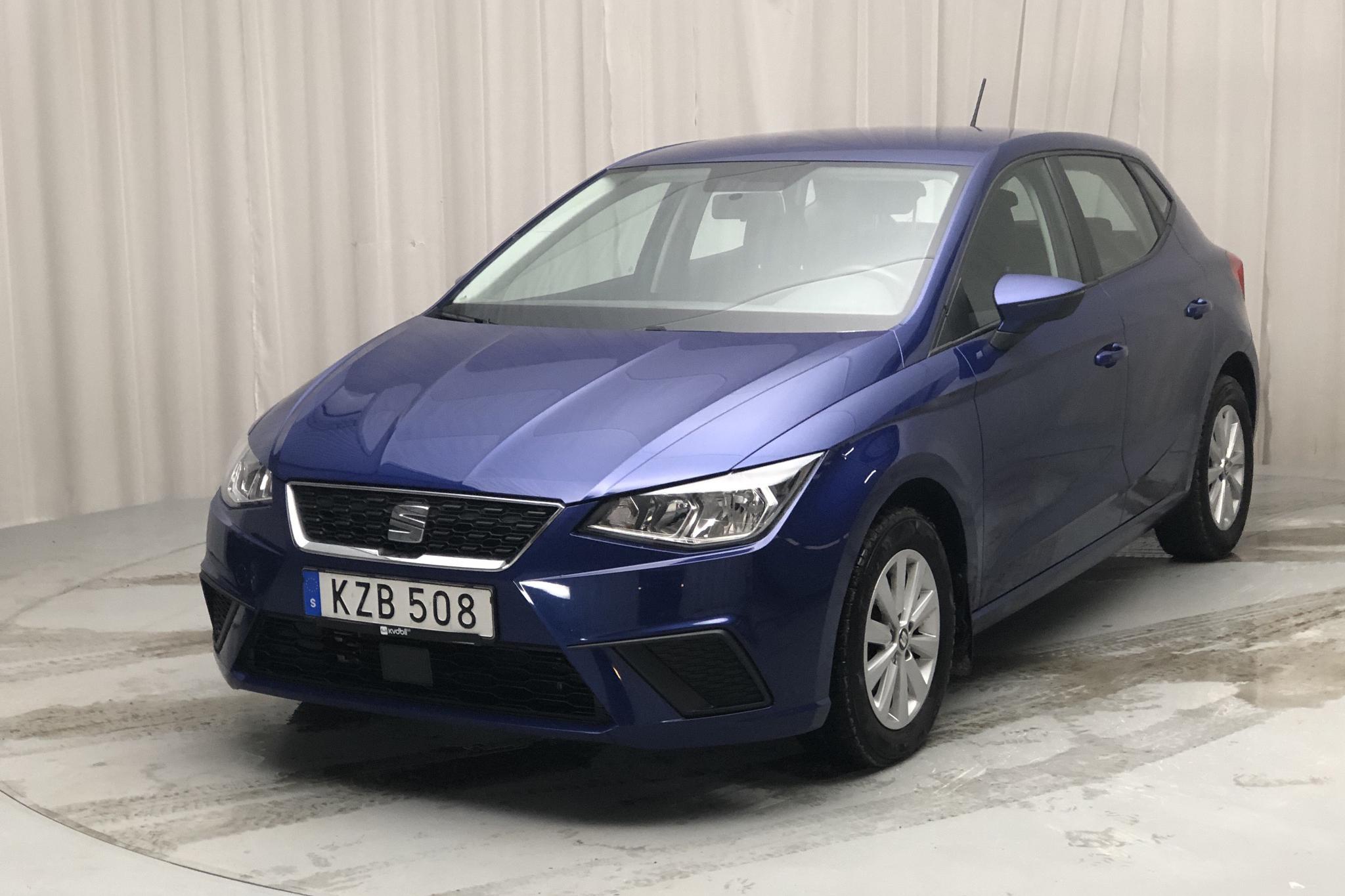 Seat Ibiza 1.0 TSI 5dr (95hk) - 3 219 mil - Manuell - blå - 2018