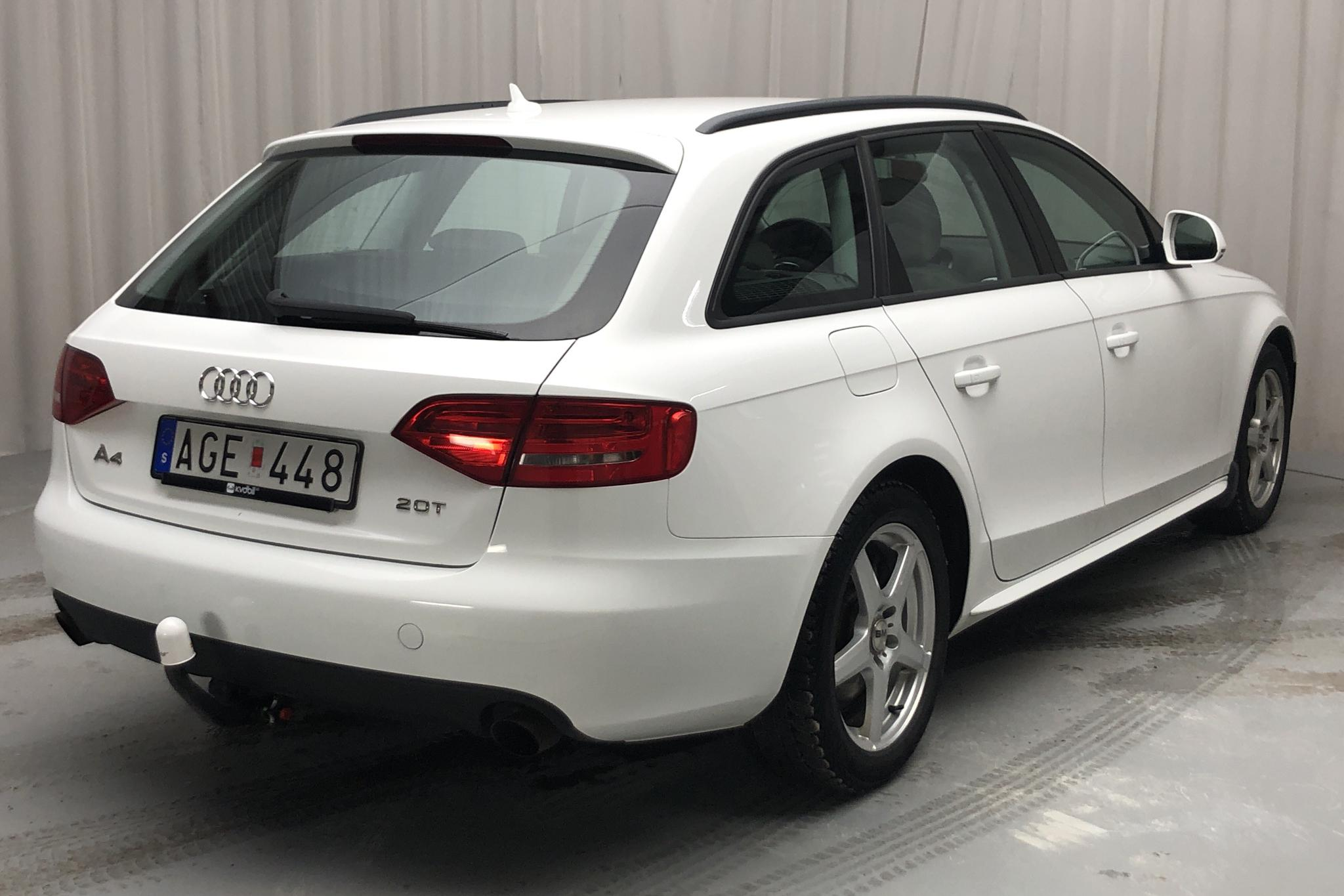 Audi A4 2.0 TFSI Avant (211hk) - 92 510 km - Manual - white - 2009