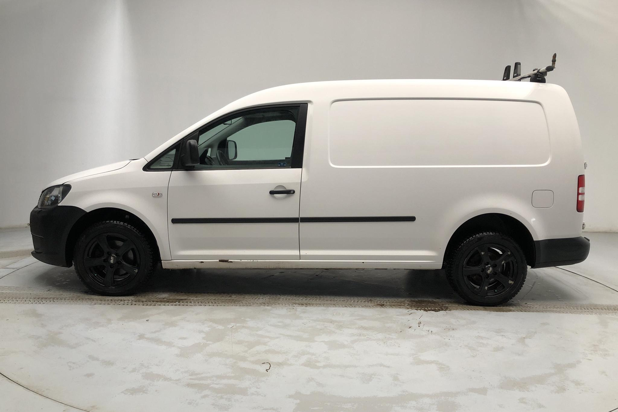 VW Caddy 2.0 TDI Maxi Skåp 4-motion (110hk) - 210 800 km - Manual - white - 2013