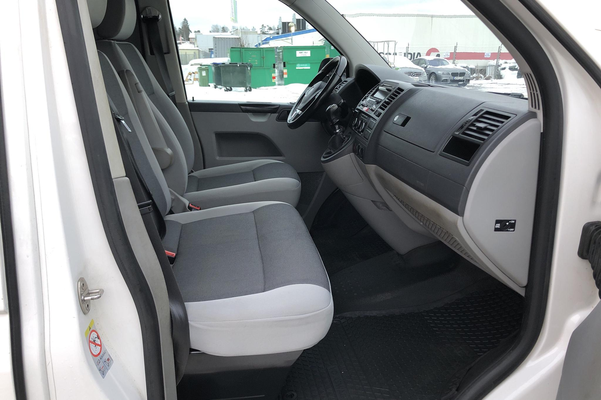 VW Transporter T5 2.0 TDI 4MOTION (140hk) - 93 200 km - Manual - white - 2014