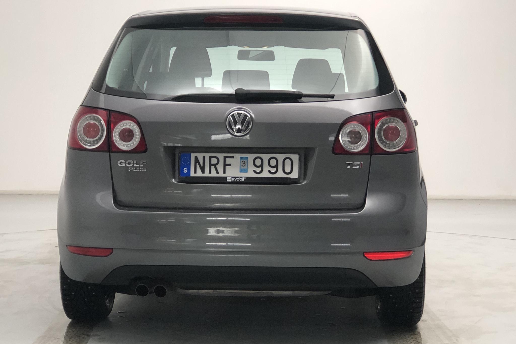 VW Golf VI 1.4 TSI Plus (122hk) - 6 921 mil - Manuell - grå - 2009