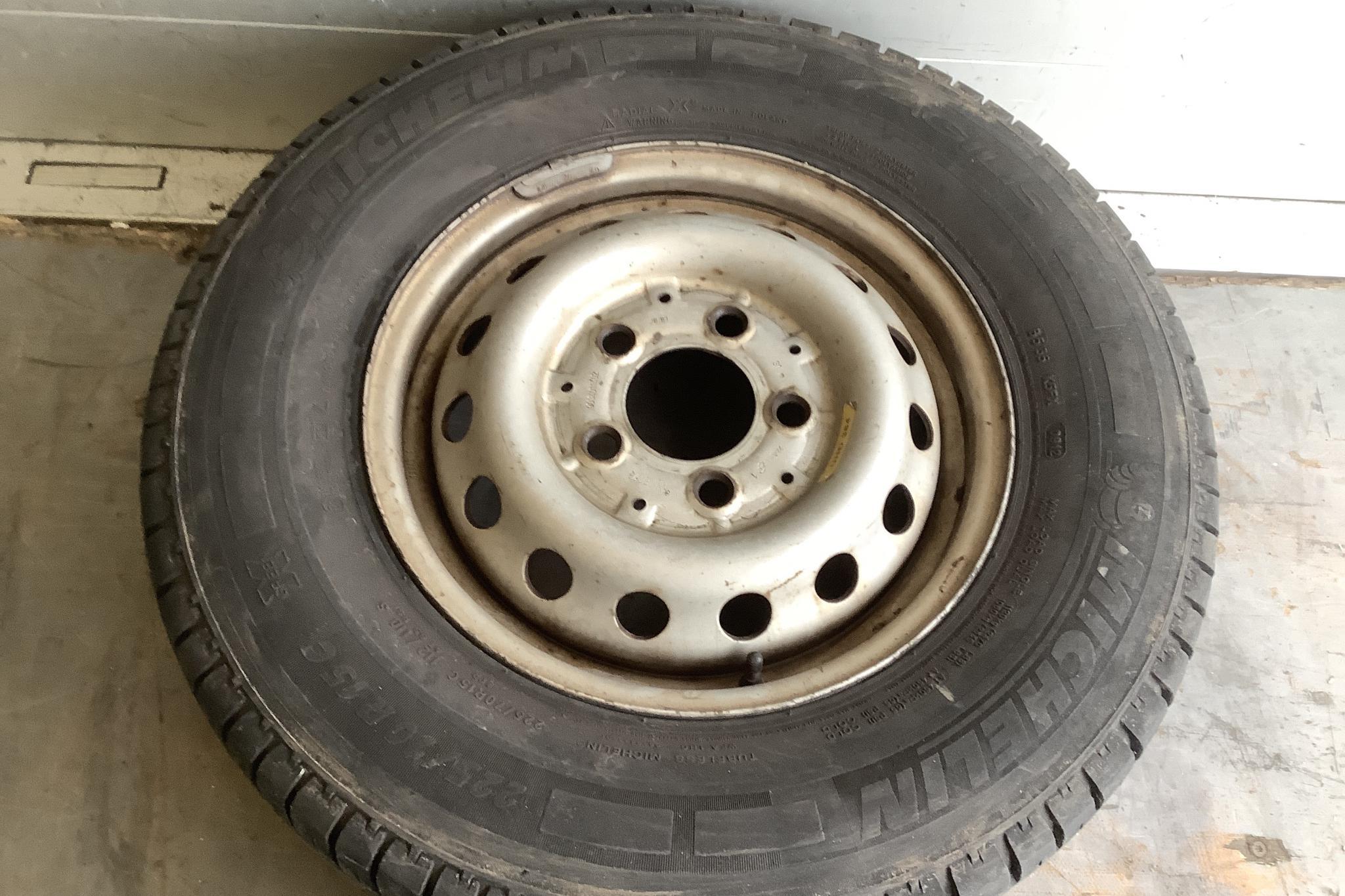 Mercedes Sprinter 211 CDI Pickup/Chassi (109hk) - 12 302 mil - Manuell - vit - 2003