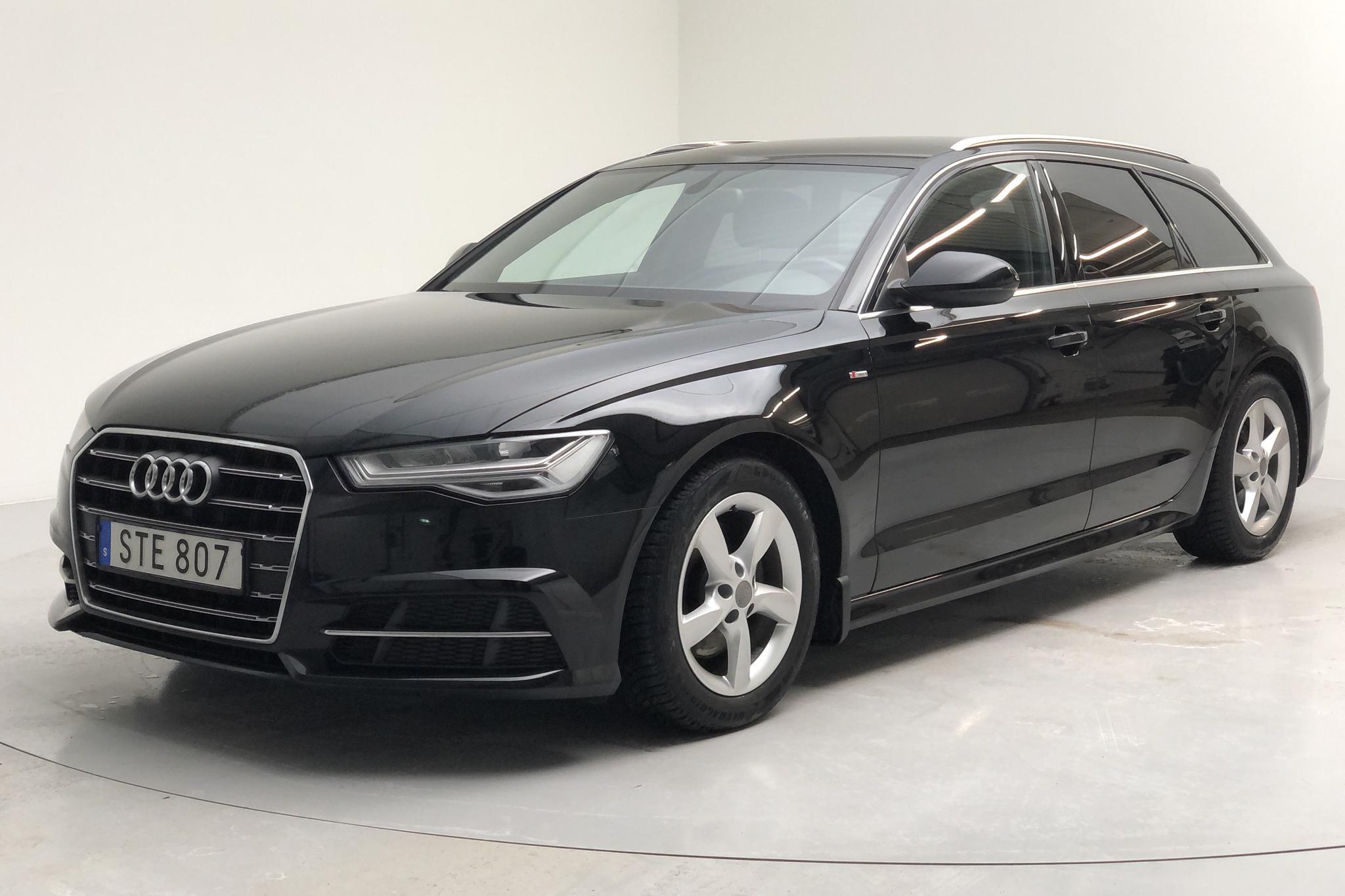 Audi A6 2.0 TDI Avant (190hk) - 63 280 km - Automatic - black - 2018