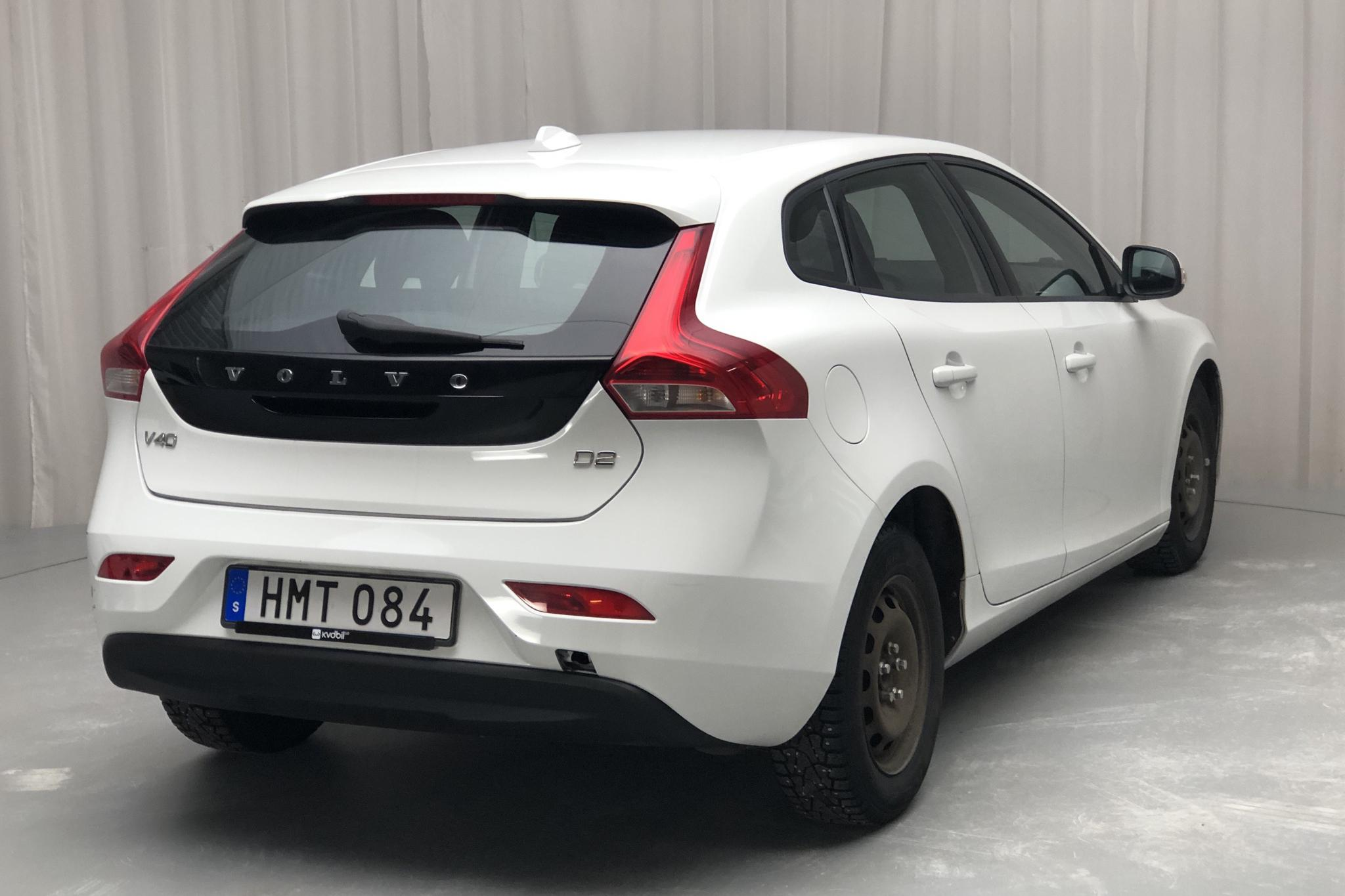 Volvo V40 D2 (115hk) - 215 200 km - Manual - white - 2015