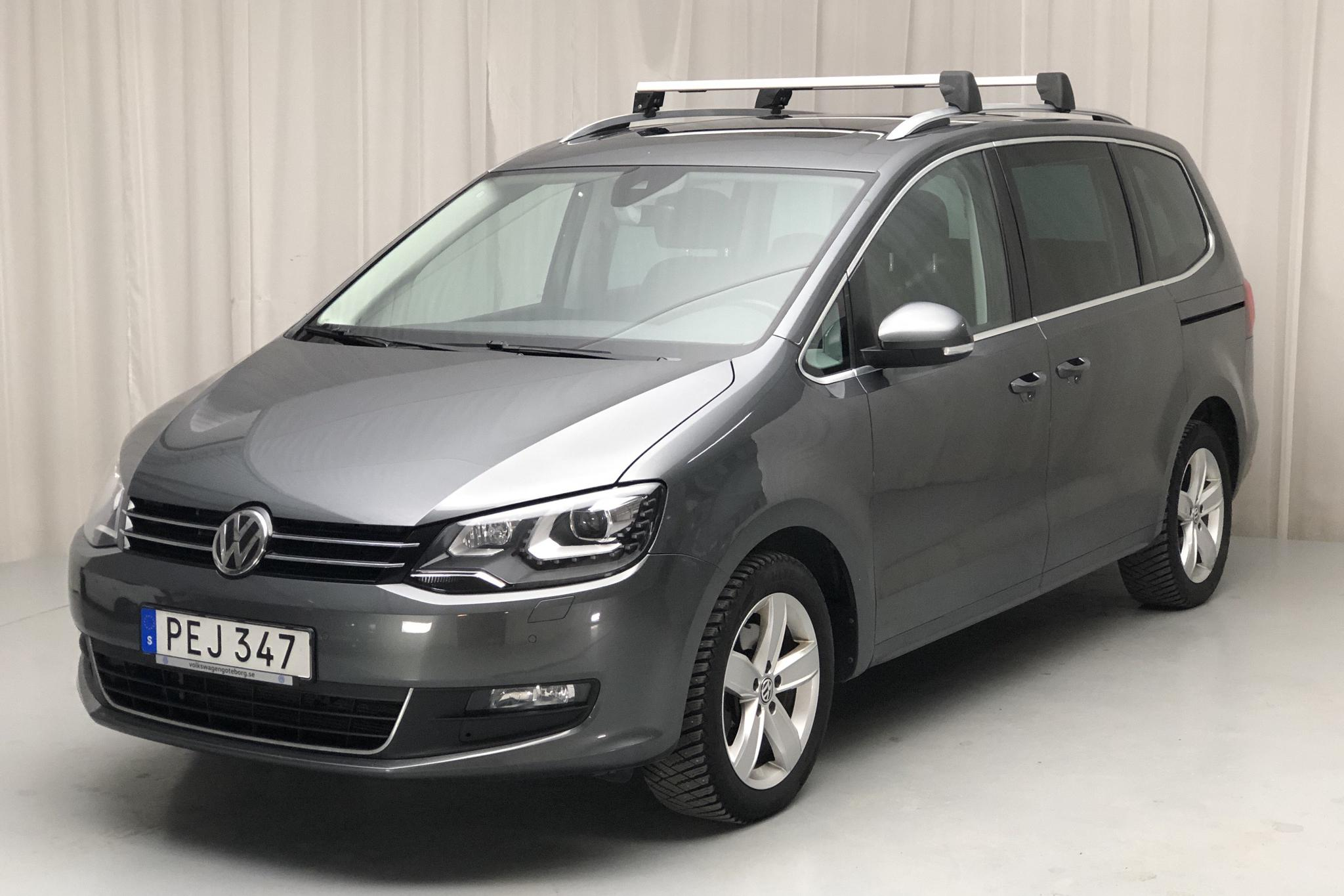 VW Sharan 2.0 TDI (150hk) - 5 942 mil - Automat - Dark Grey - 2017