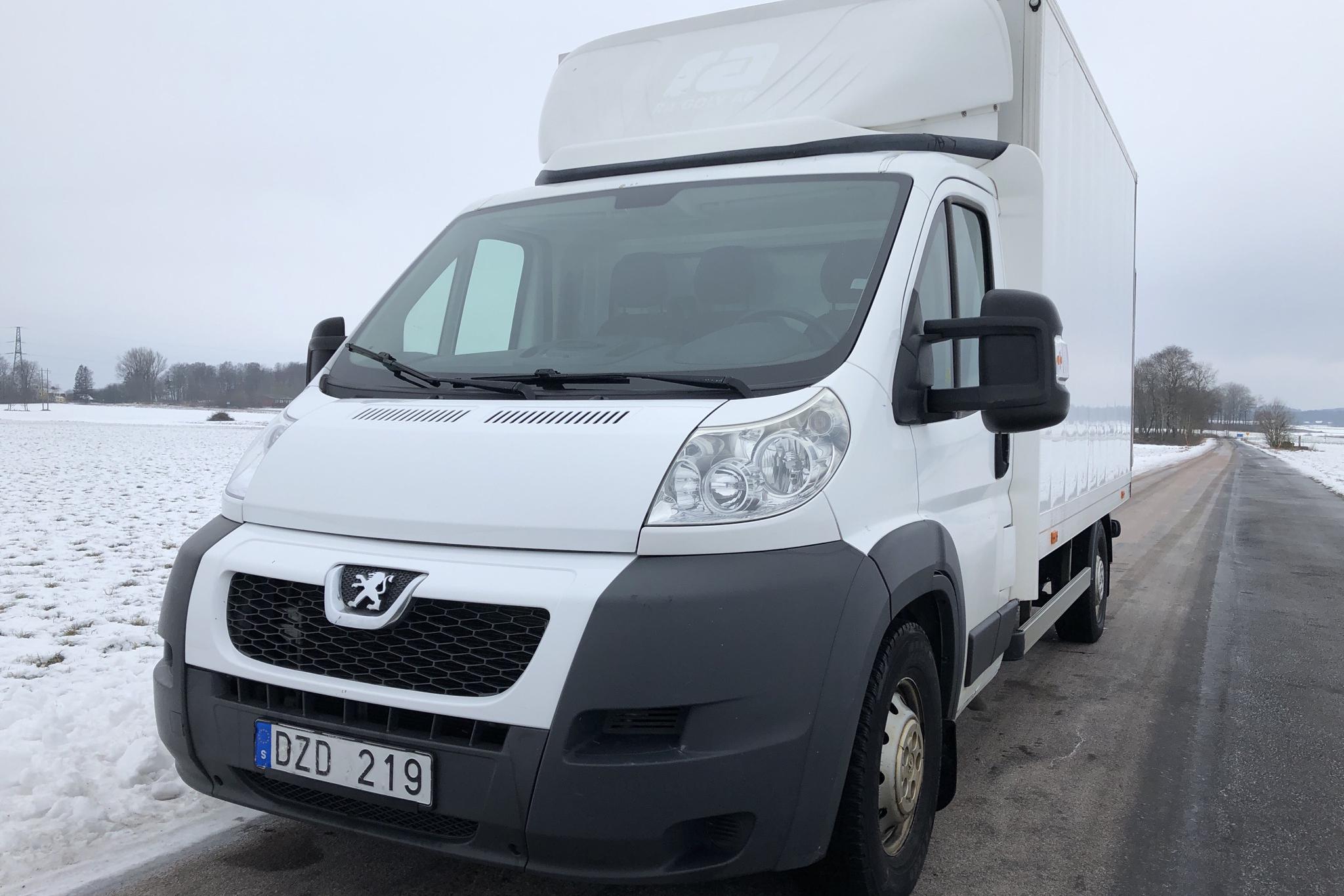Peugeot Boxer 2.2 HDI Volymskåp (130hk) - 112 890 km - Manual - white - 2013