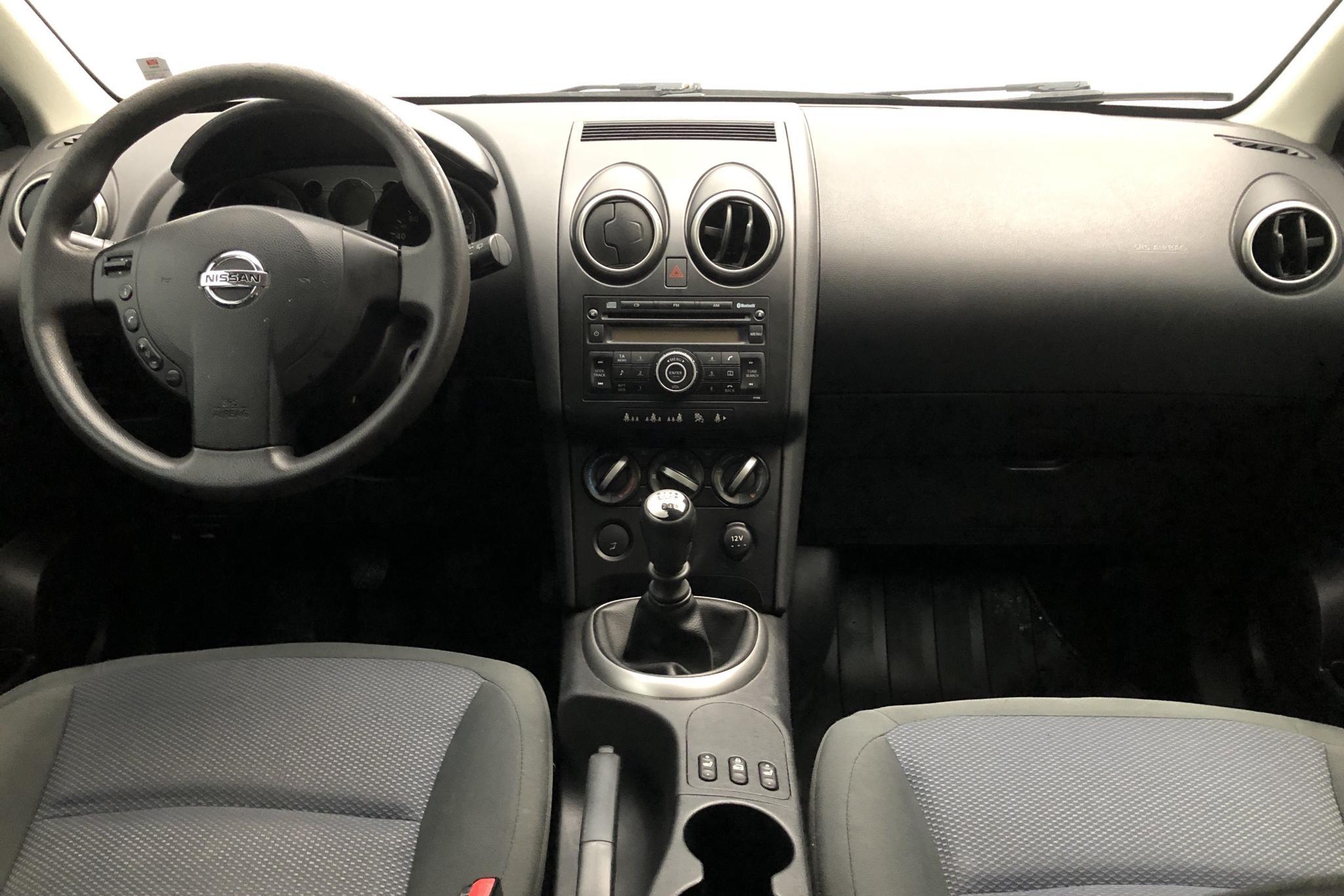 Nissan Qashqai 2.0 dCi (150hk) - 229 640 km - Manual - blue - 2008