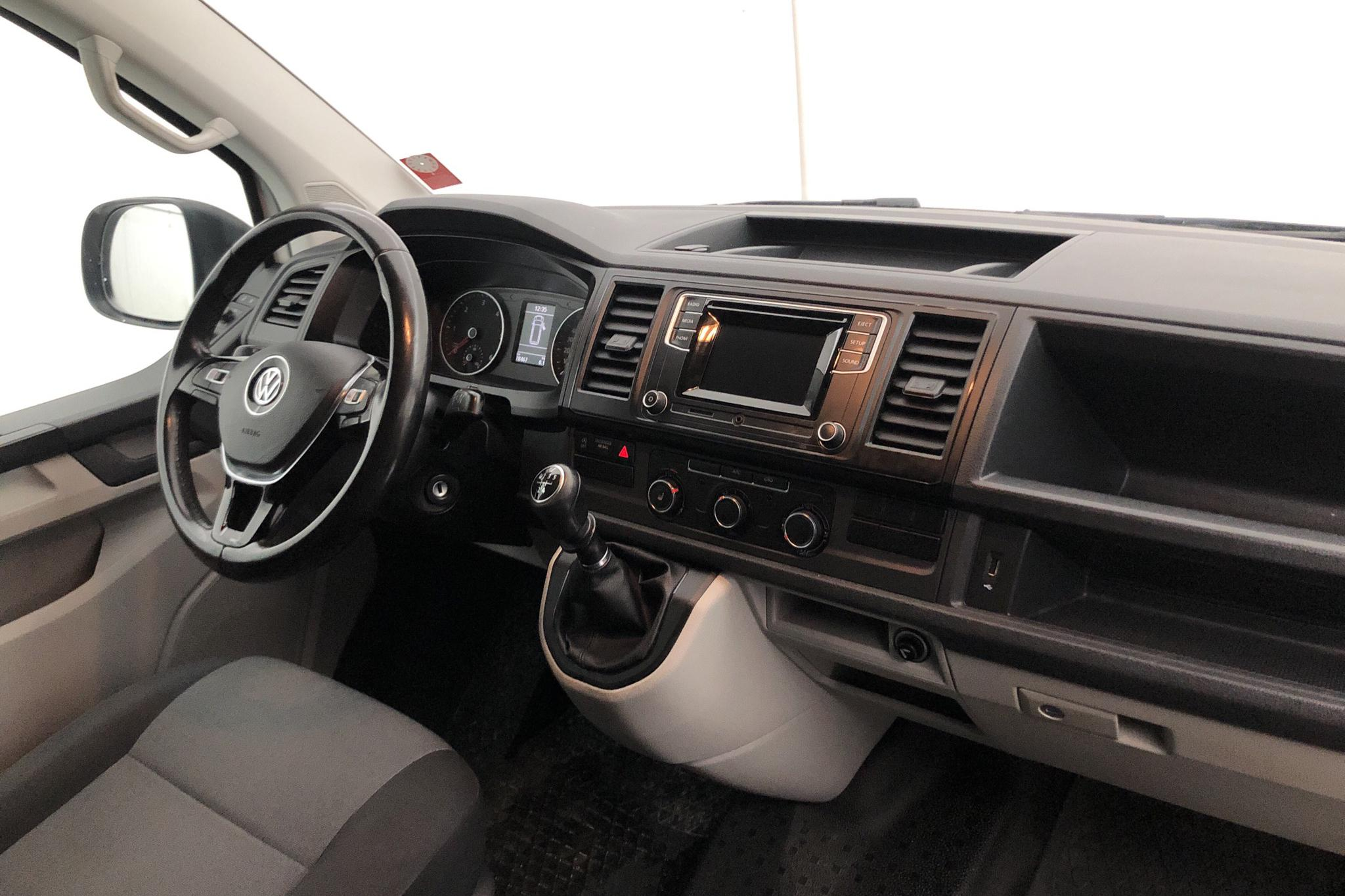 VW Transporter T6 2.0 TDI BMT Skåp (102hk) - 78 460 km - Manual - white - 2018
