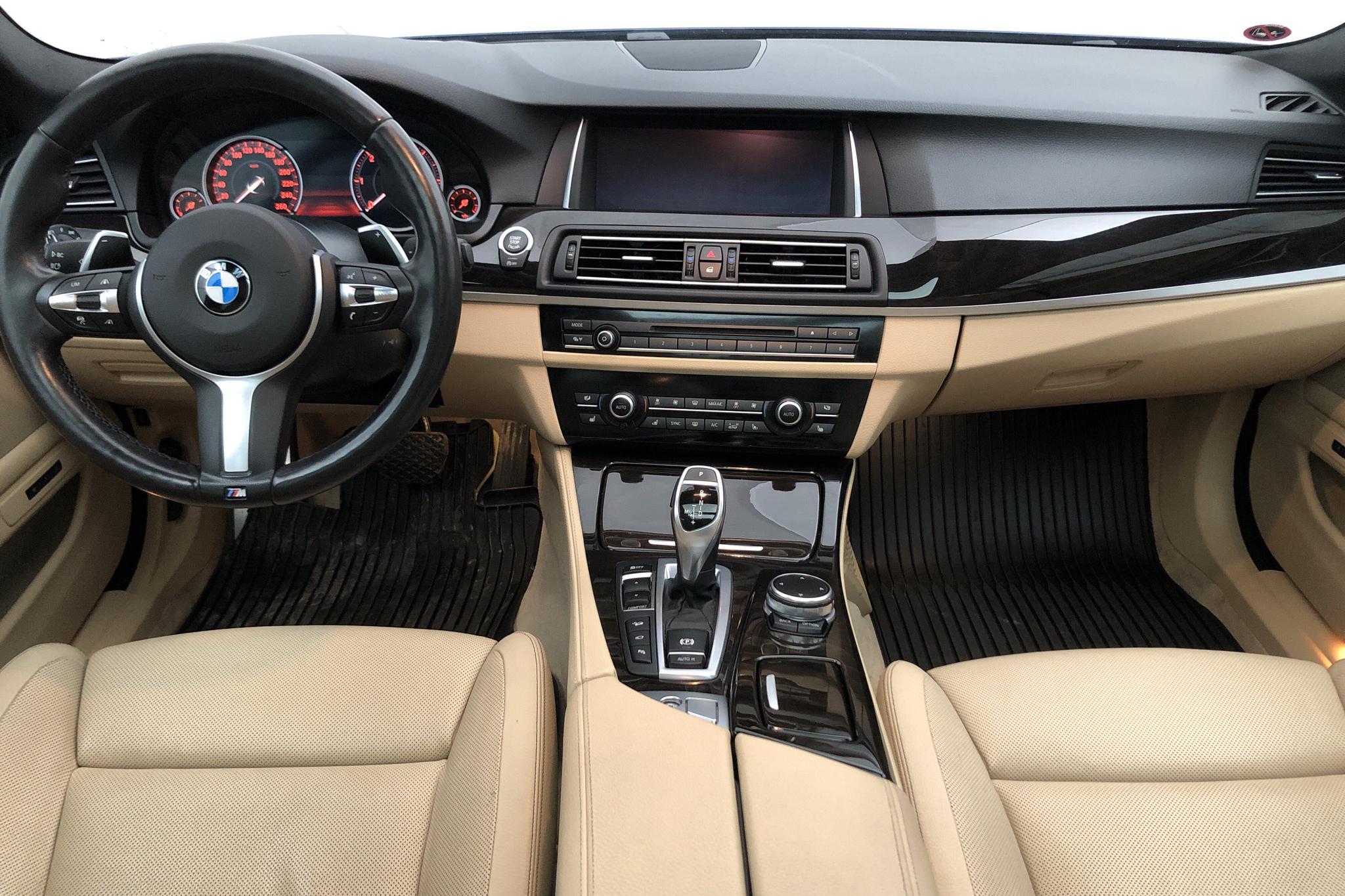 BMW 535d xDrive Touring, F11 (313hk) - 9 170 mil - Automat - blå - 2017