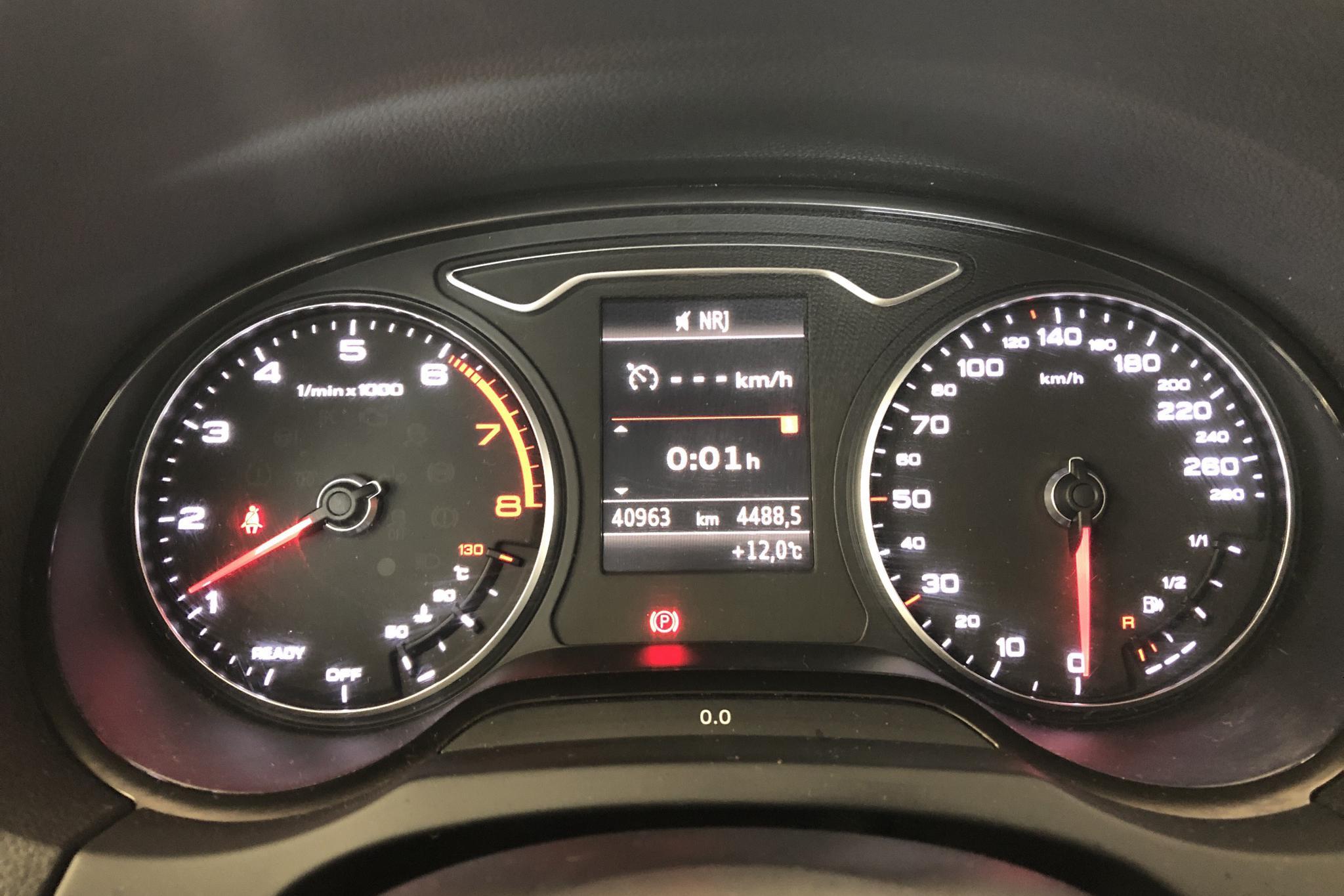 Audi A3 1.0 TFSI Sportback (116hk) - 40 970 km - Manual - black - 2017