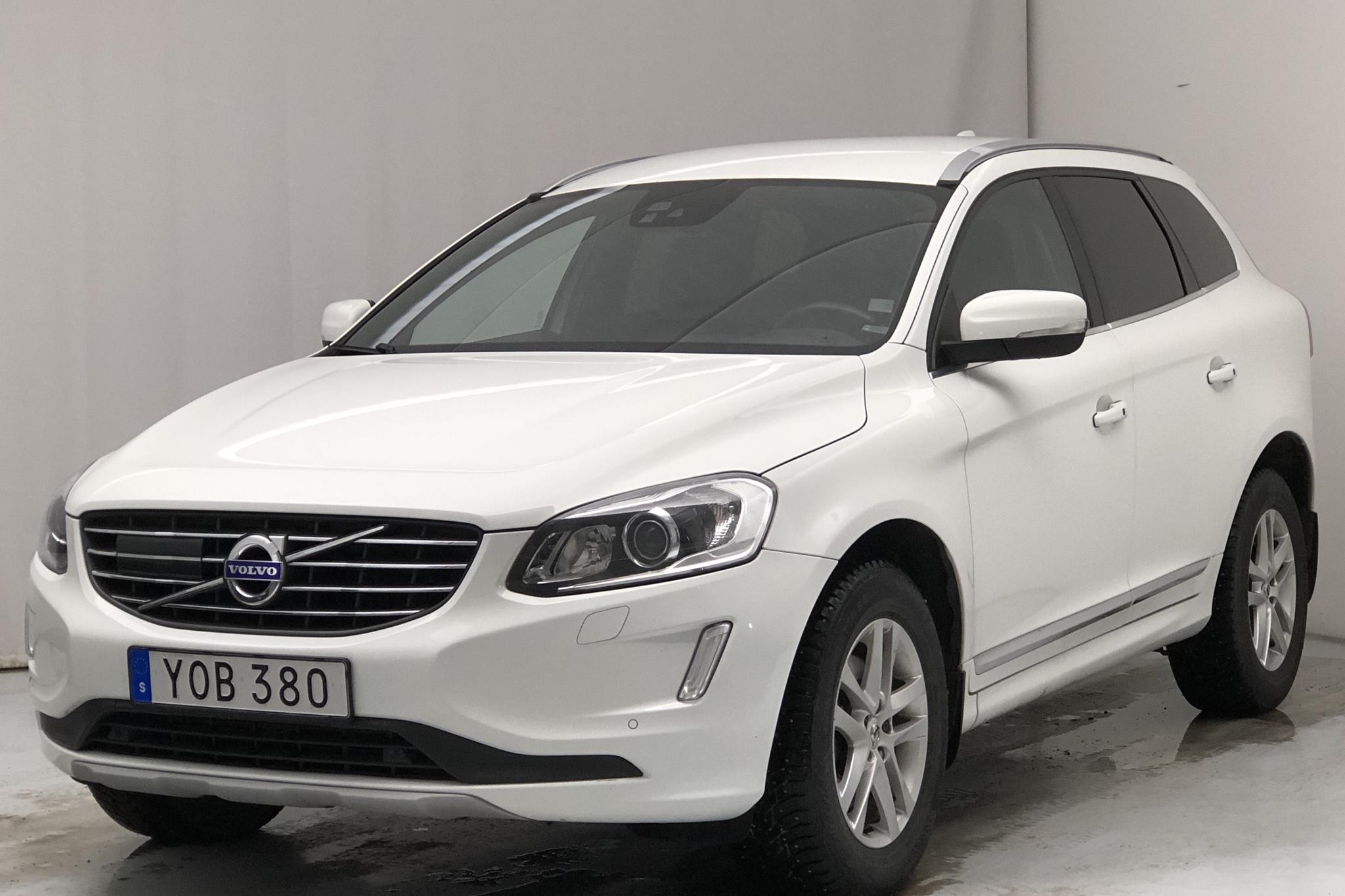 Volvo XC60 D4 AWD (190hk) - 106 850 km - Automatic - white - 2017