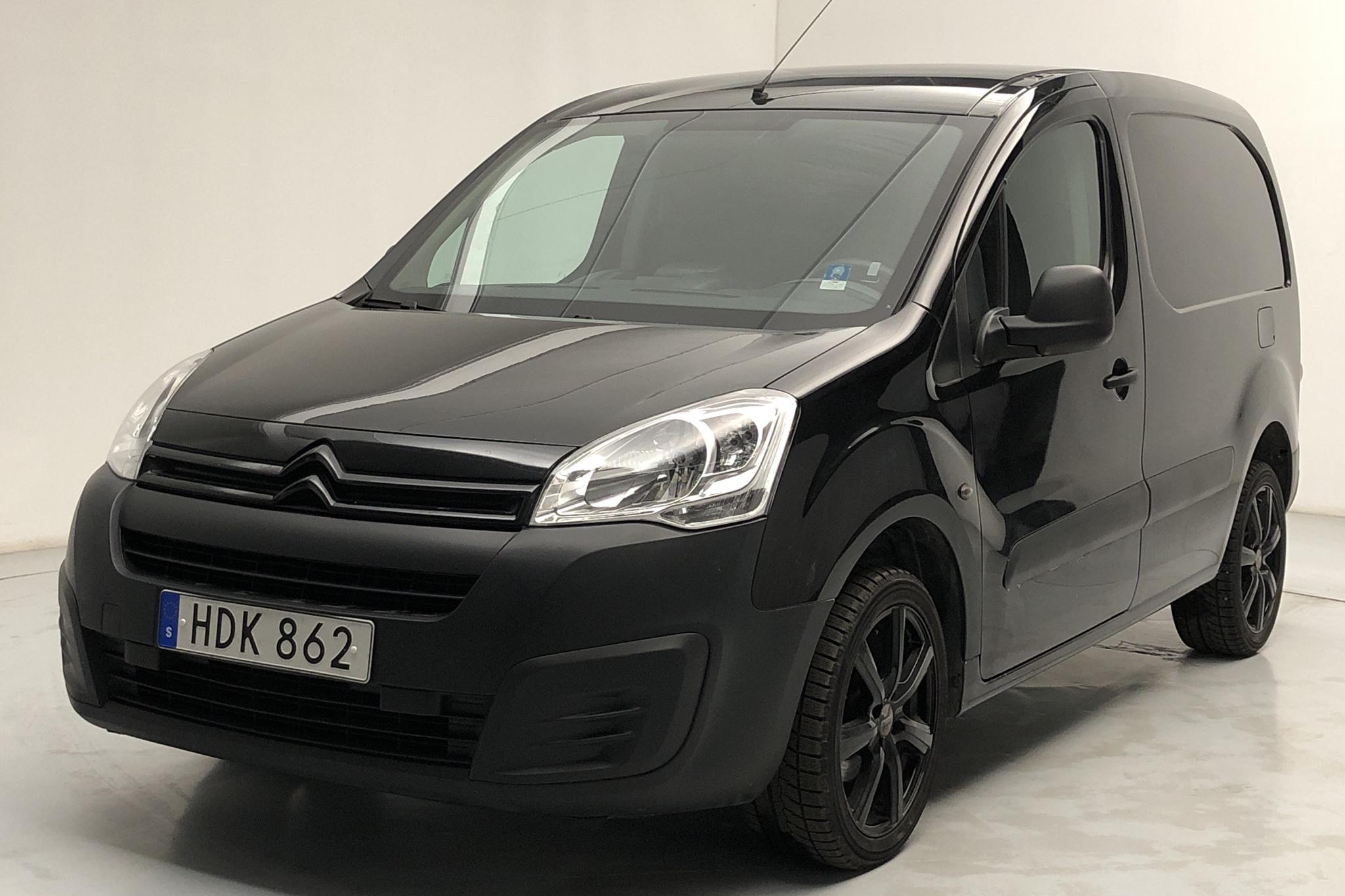 Citroen Berlingo III 1.6 HDi Skåp (75hk) - 93 220 km - Manual - black - 2015