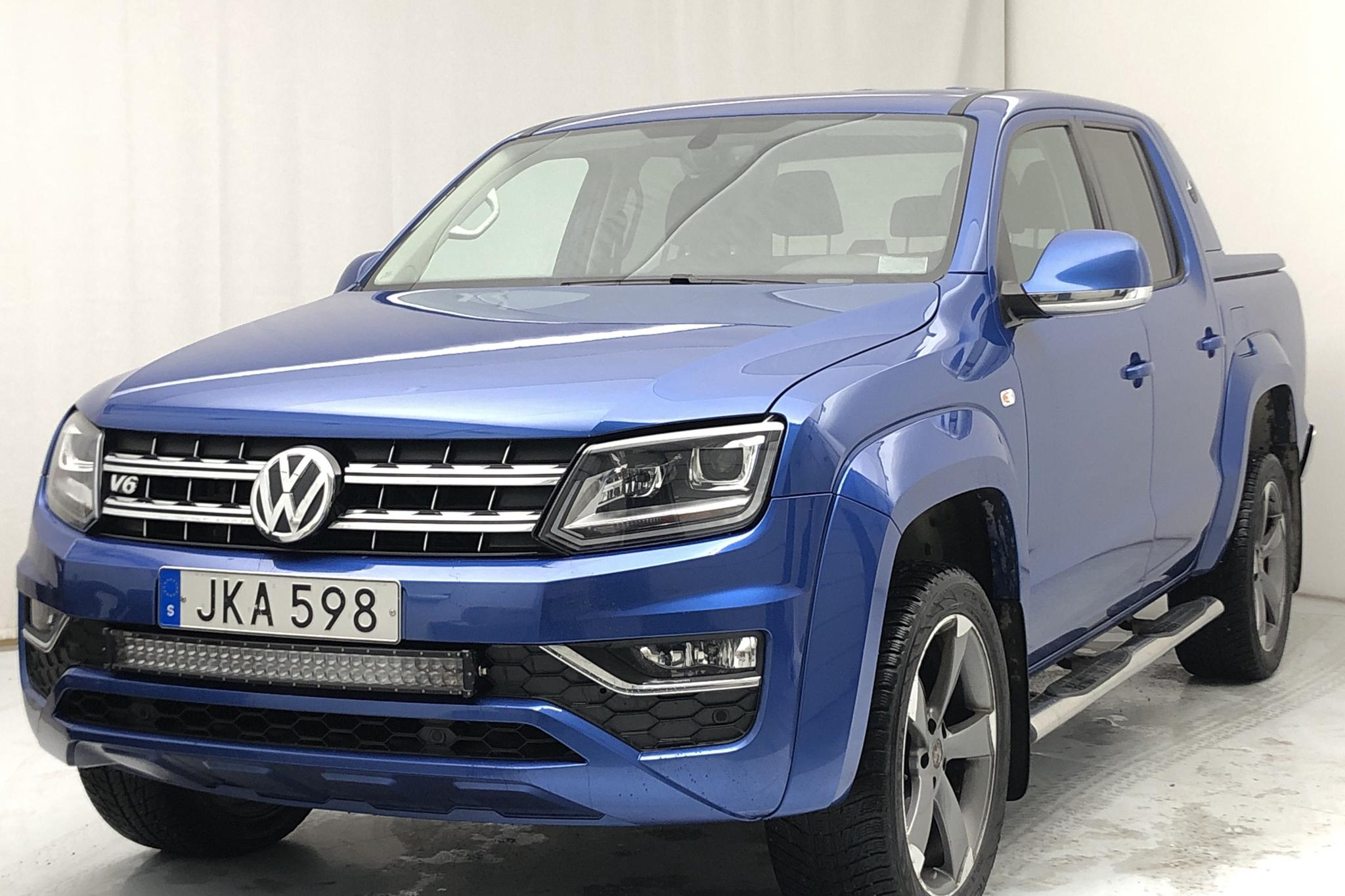 VW Amarok 3.0 TDI 4motion (224hk) - 109 500 km - Automatic - blue - 2017