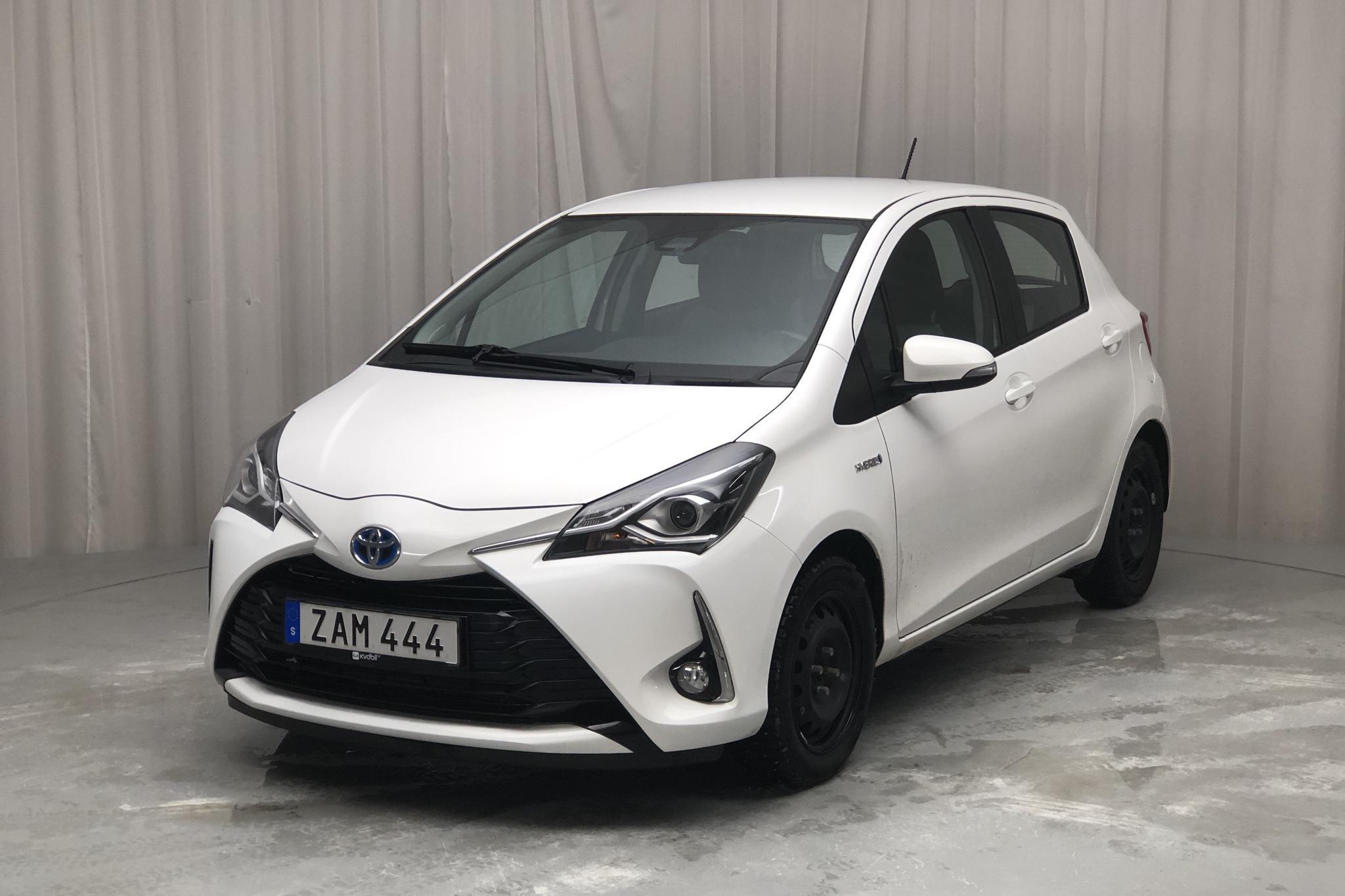 Toyota Yaris 1.5 Hybrid 5dr (101hk) - 4 531 mil - Automat - vit - 2018