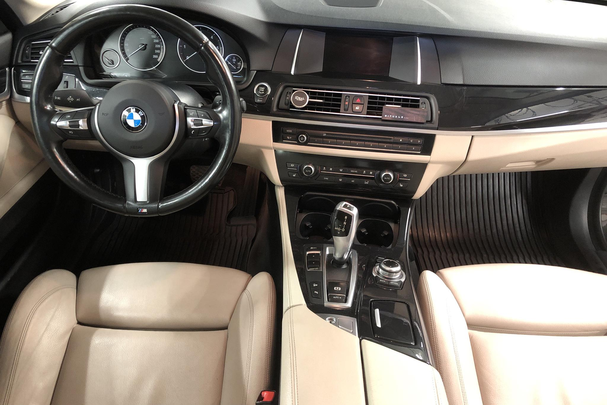 BMW 520d xDrive Touring, F11 (190hk) - 131 290 km - Automatic - brown - 2016