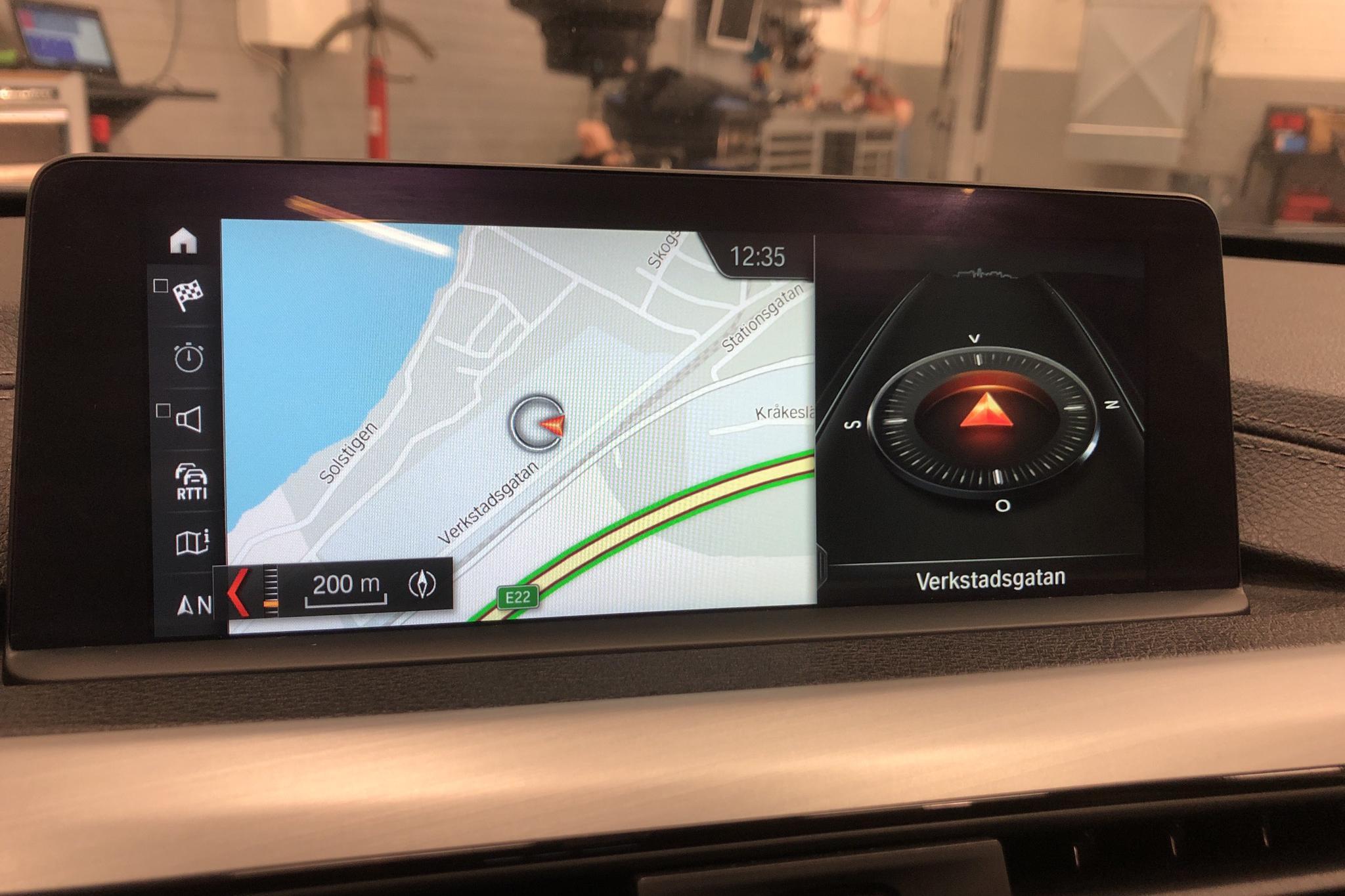 BMW 330e Sedan, F30 (252hk) - 123 380 km - Automatic - black - 2018