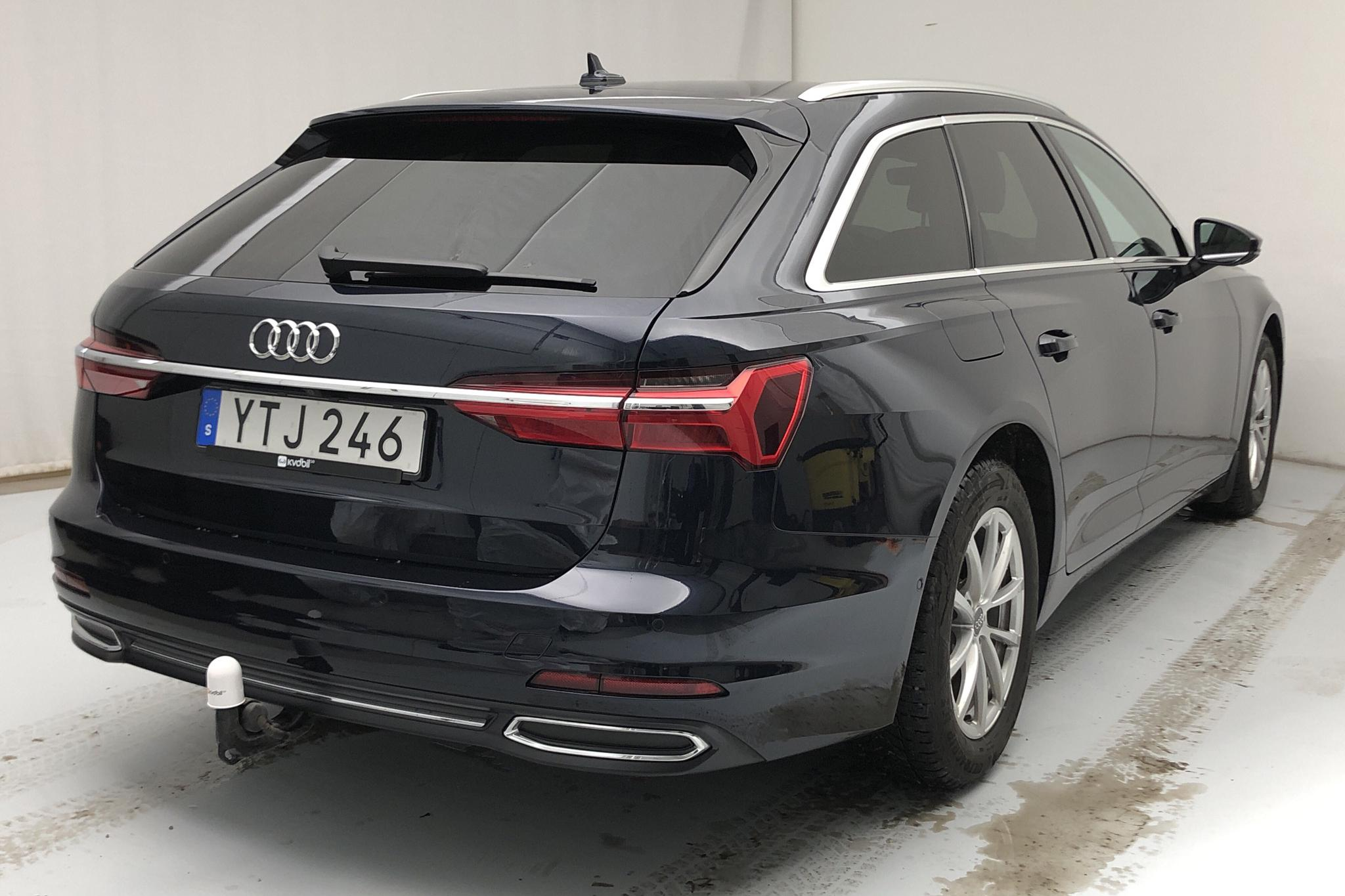 Audi A6 Avant 40 TDI (204hk) - 3 535 mil - Automat - blå - 2019