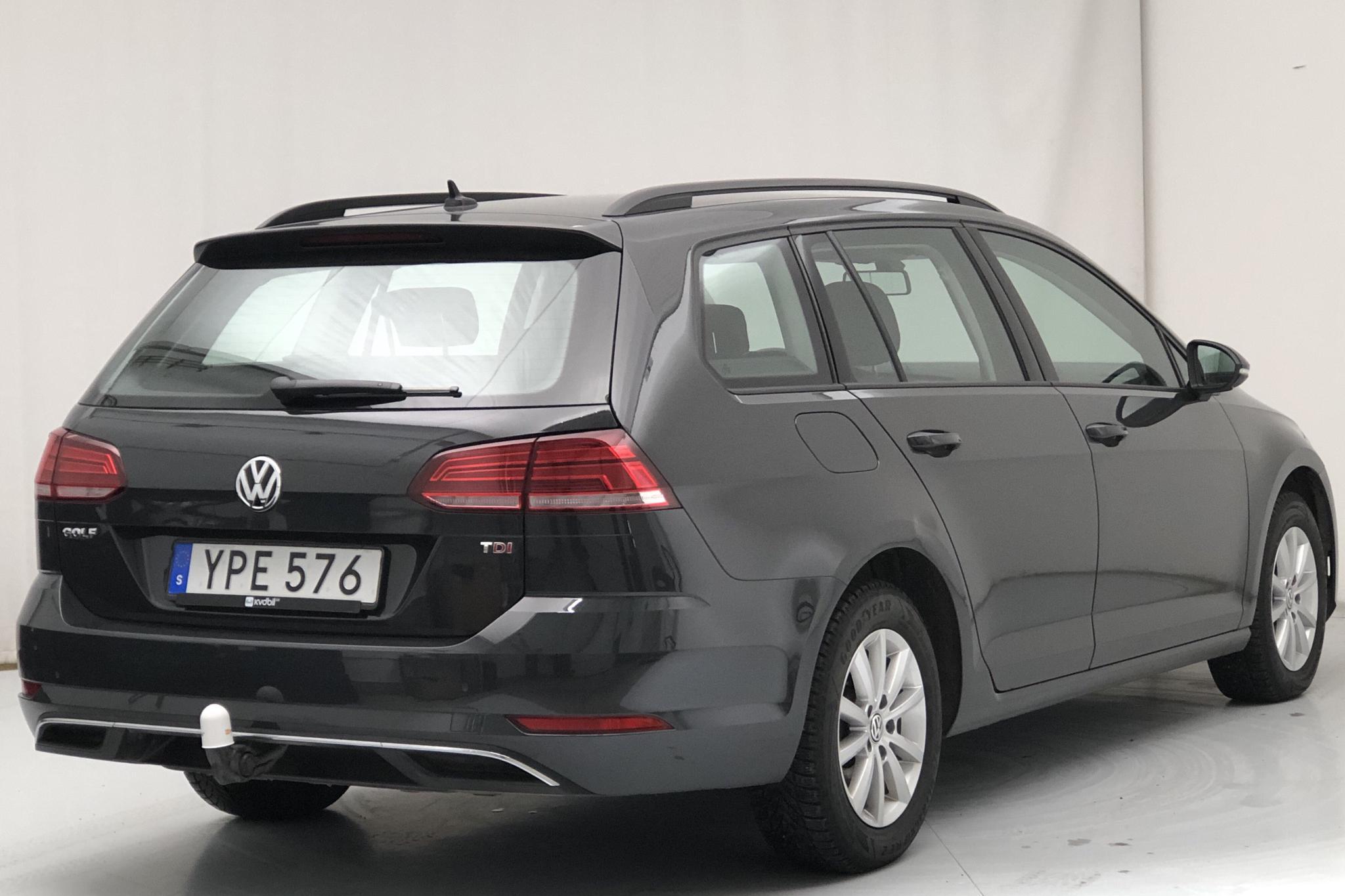 VW Golf VII 1.6 TDI Sportscombi (115hk) - 59 260 km - Automatic - Dark Grey - 2018