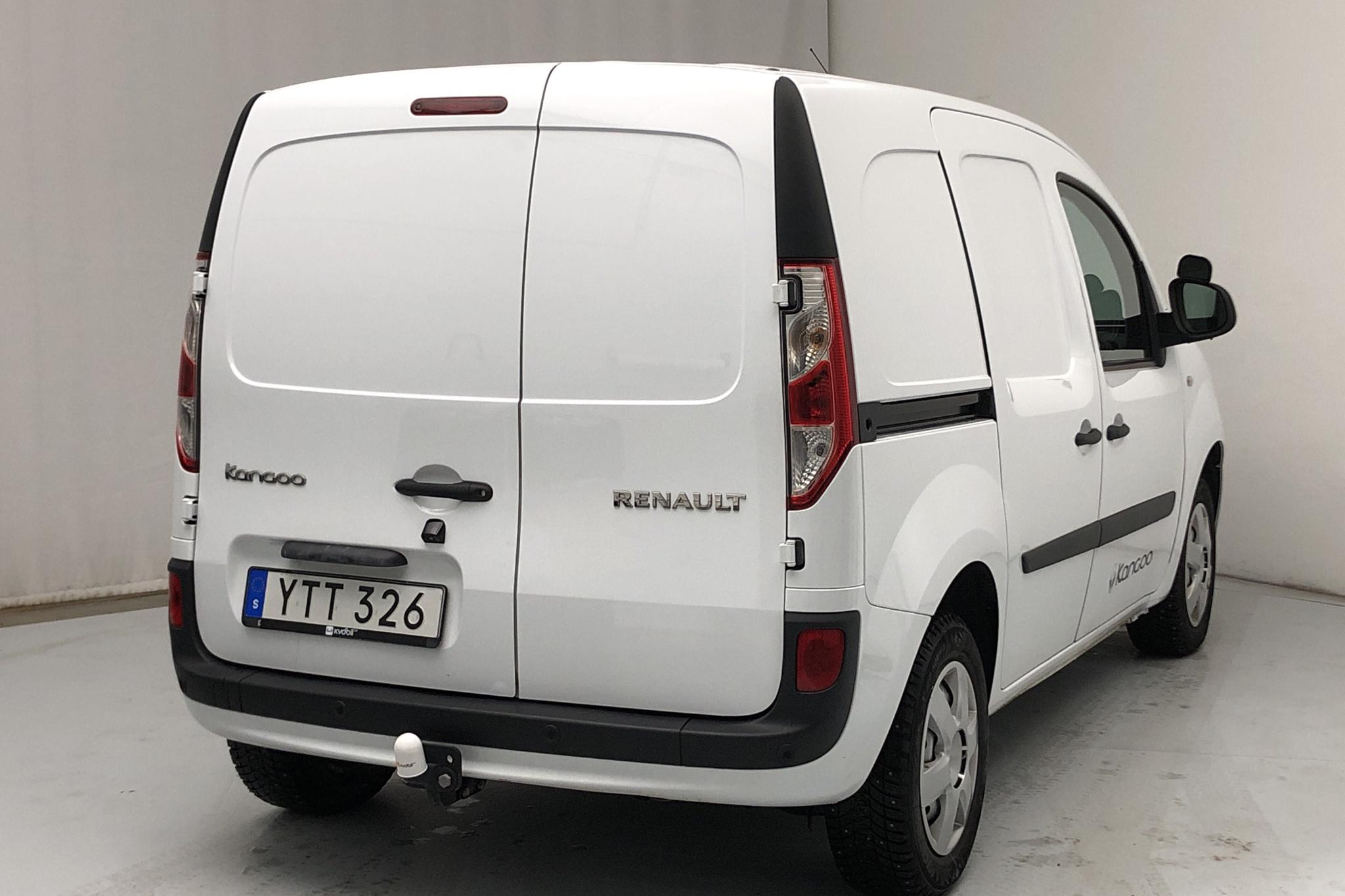 Renault Kangoo 1.5 dCi Skåp (75hk) - 2 034 mil - Manuell - vit - 2018