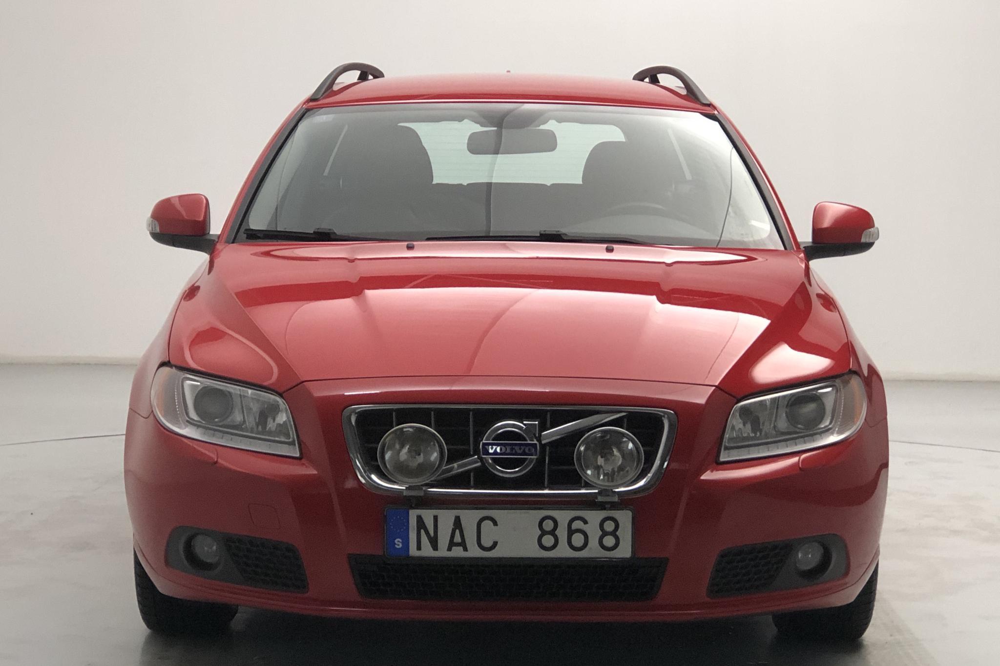 Volvo V70 II 1.6D DRIVe (109hk) - 13 575 mil - Manuell - röd - 2010