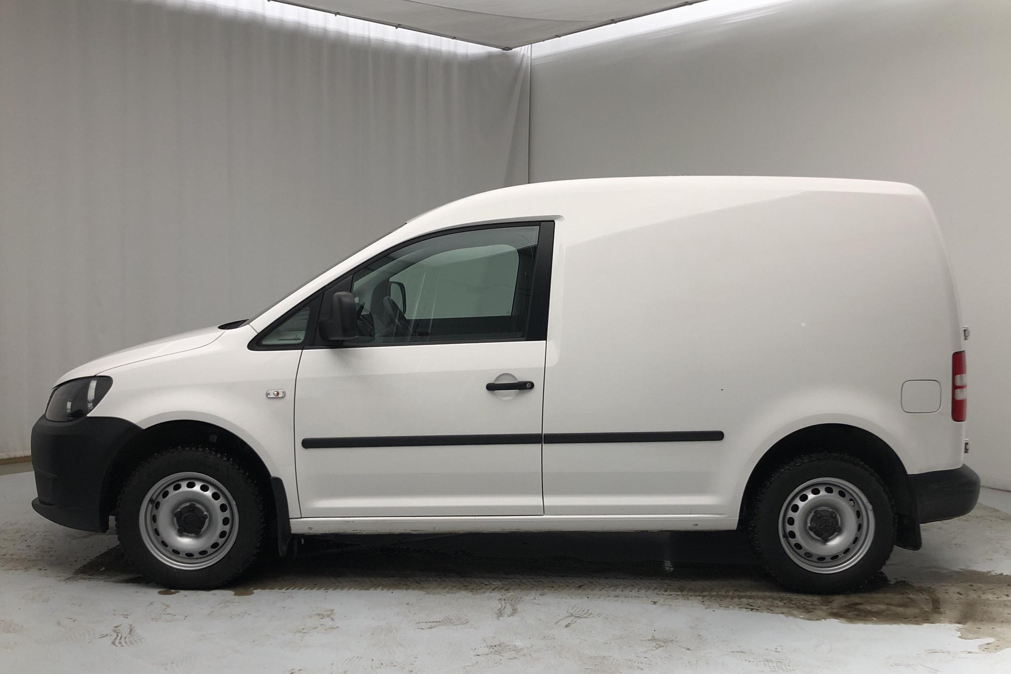 VW Caddy 1.6 TDI Skåp (102hk) - 73 390 km - Manual - white - 2015