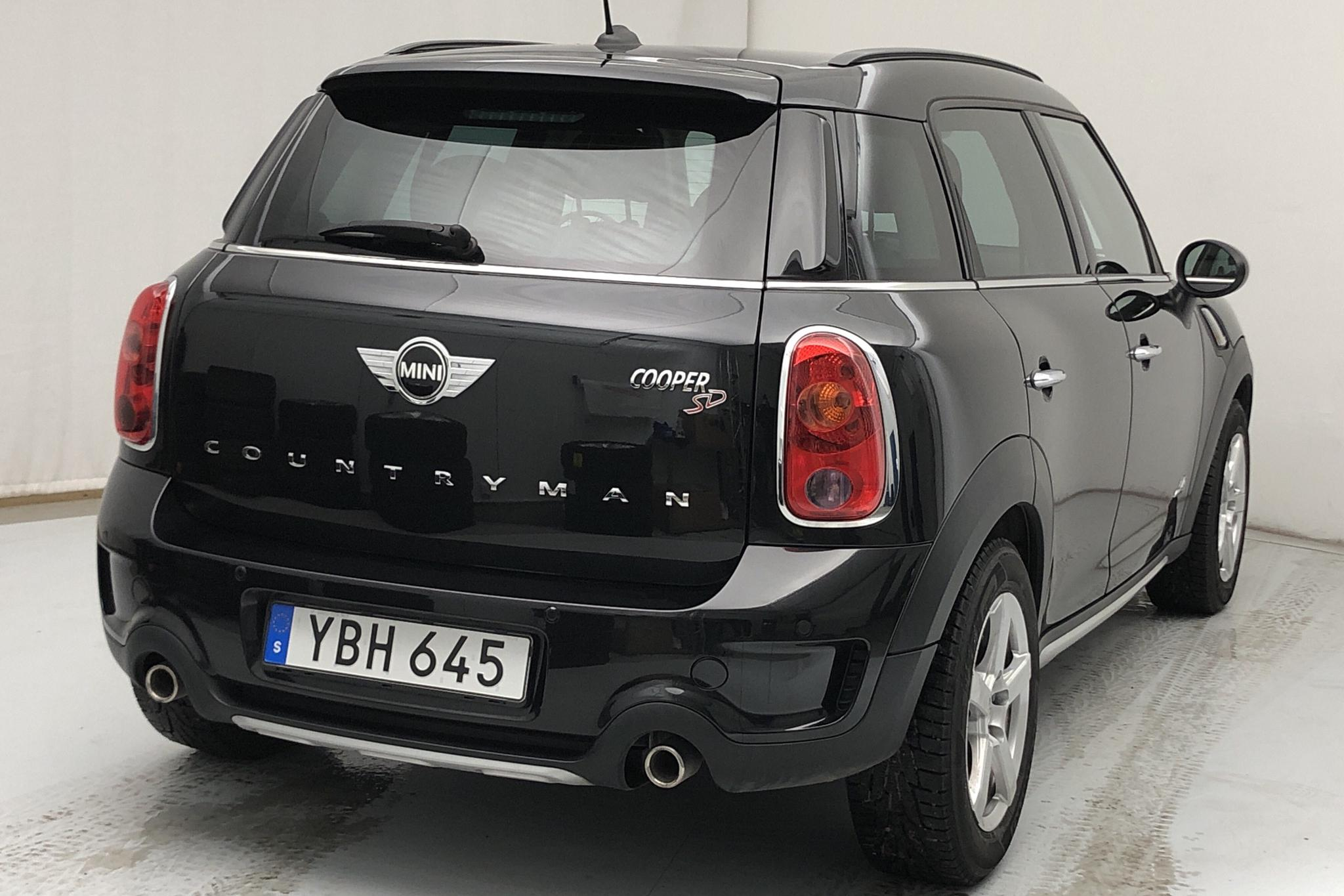 MINI Cooper SD ALL4 Countryman (143hk) - 7 756 mil - Automat - svart - 2016