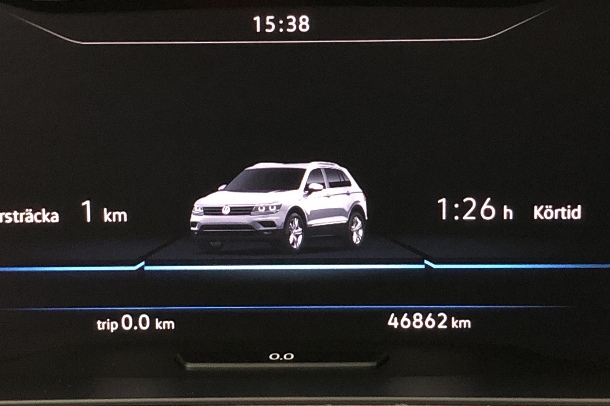 VW Tiguan 2.0 TDI 4MOTION (190hk) - 46 860 km - Automatic - white - 2018
