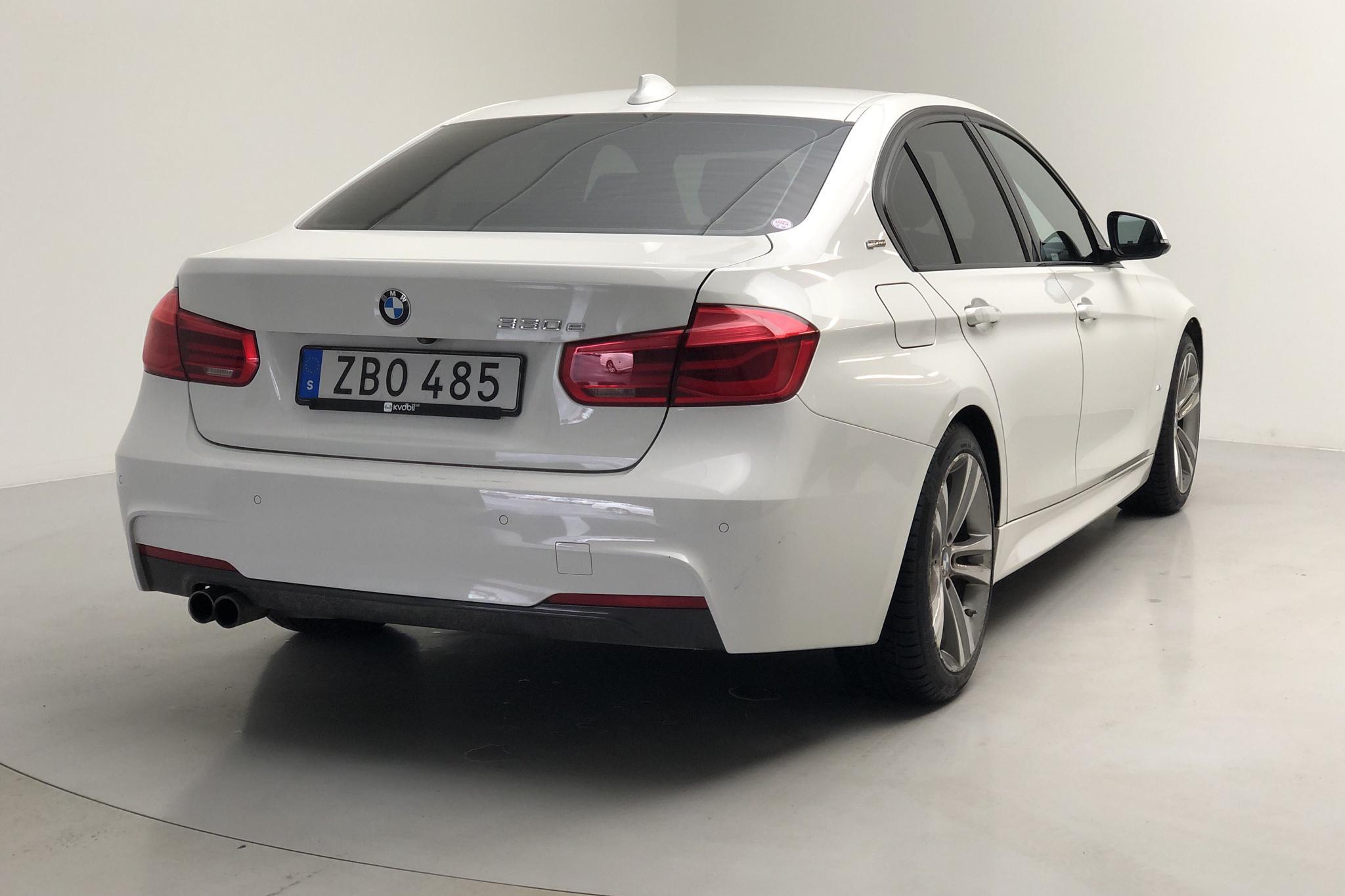 BMW 330e Sedan, F30 (252hk) - 99 480 km - Automatic - white - 2018
