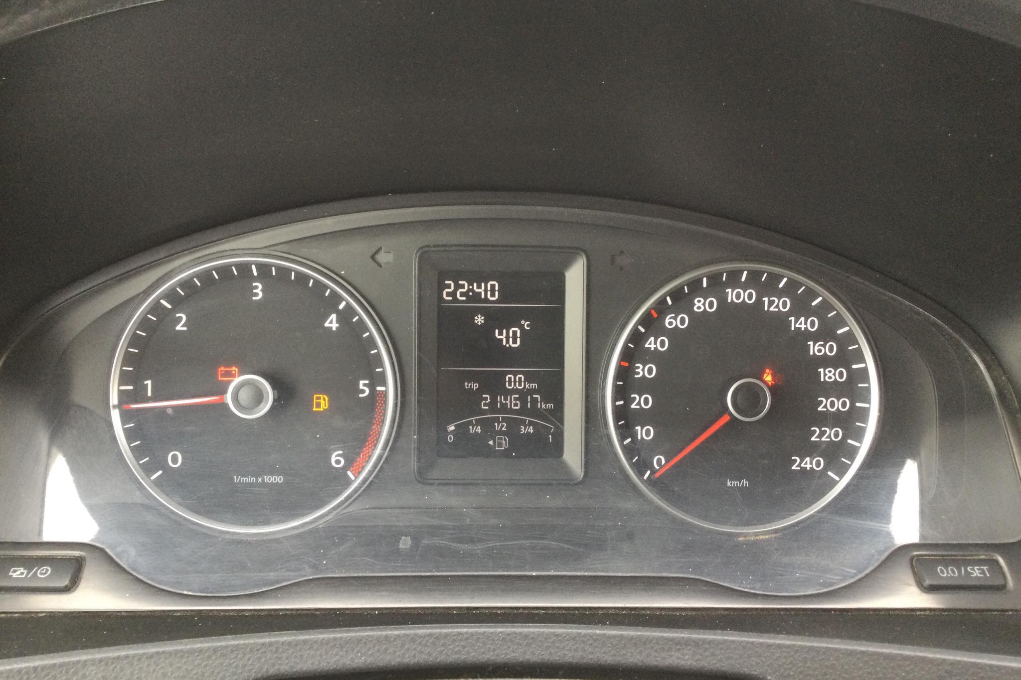 VW Transporter T5 2.0 TDI (102hk) - 21 462 mil - Manuell - vit - 2013