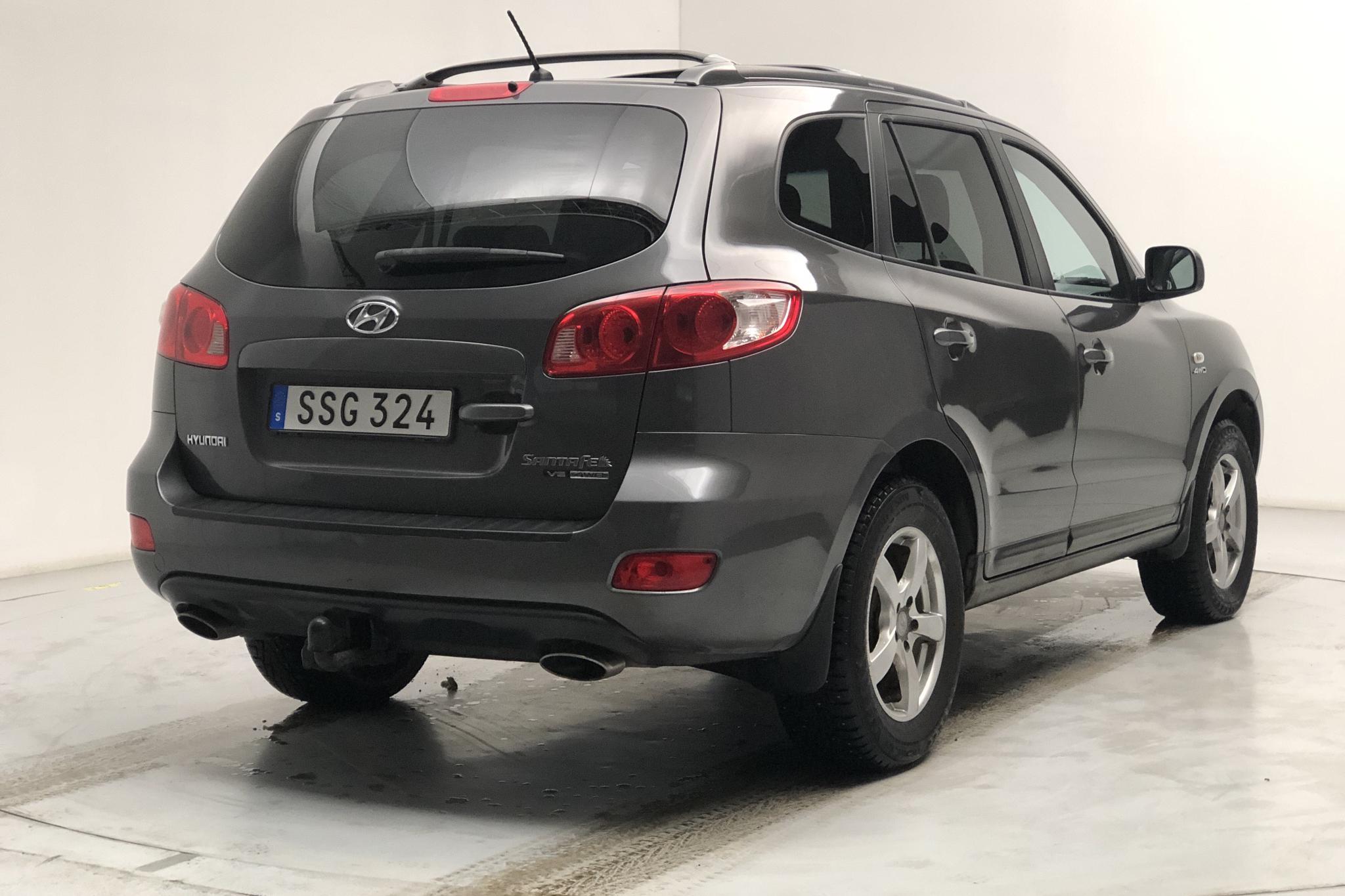 Hyundai Santa Fé 2.7 V6 (189hk) - 20 574 mil - Automat - silver - 2006