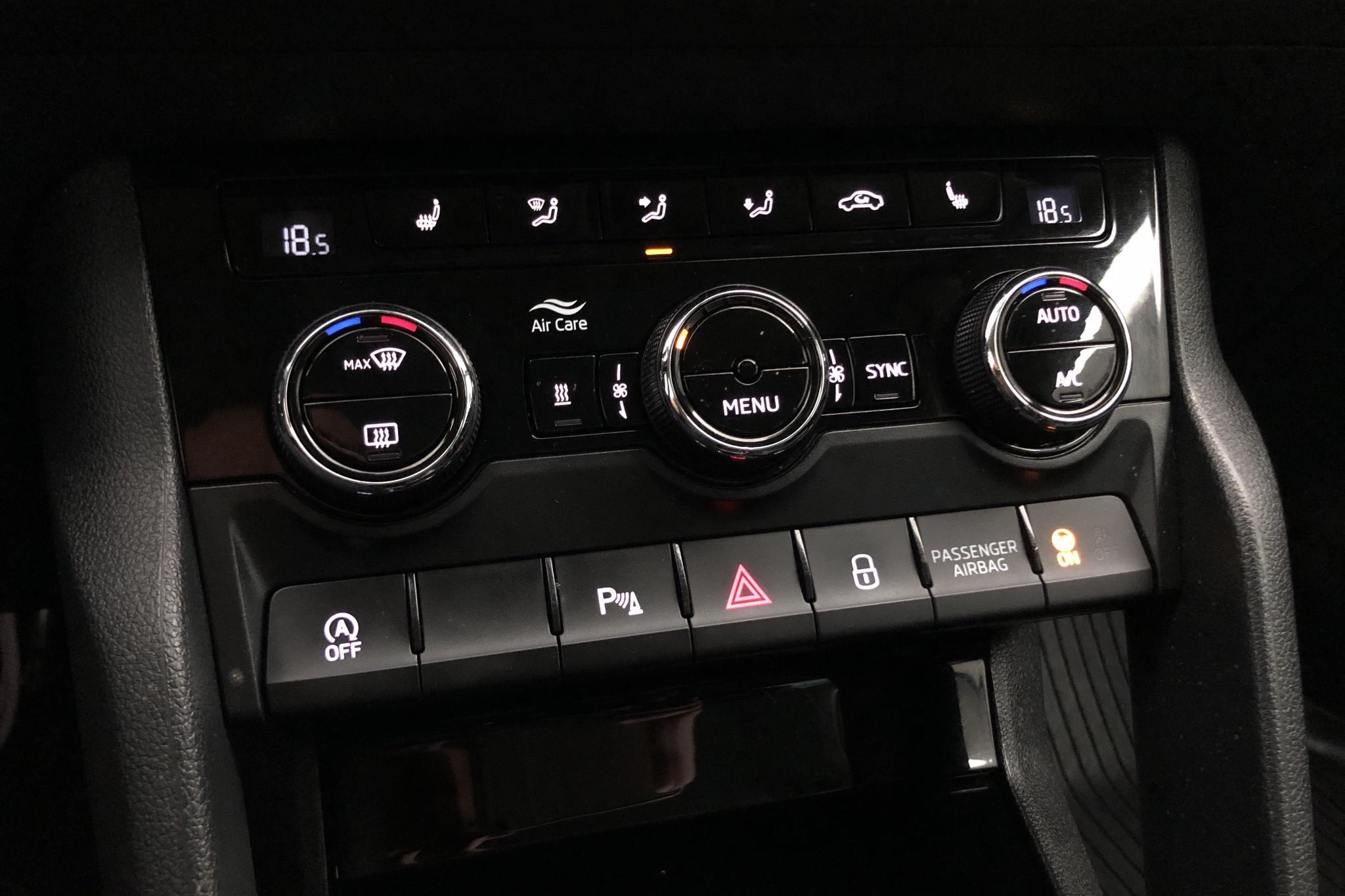 Skoda Kodiaq 2.0 TDI 4X4 (150hk) - 13 534 mil - Automat - vit - 2018