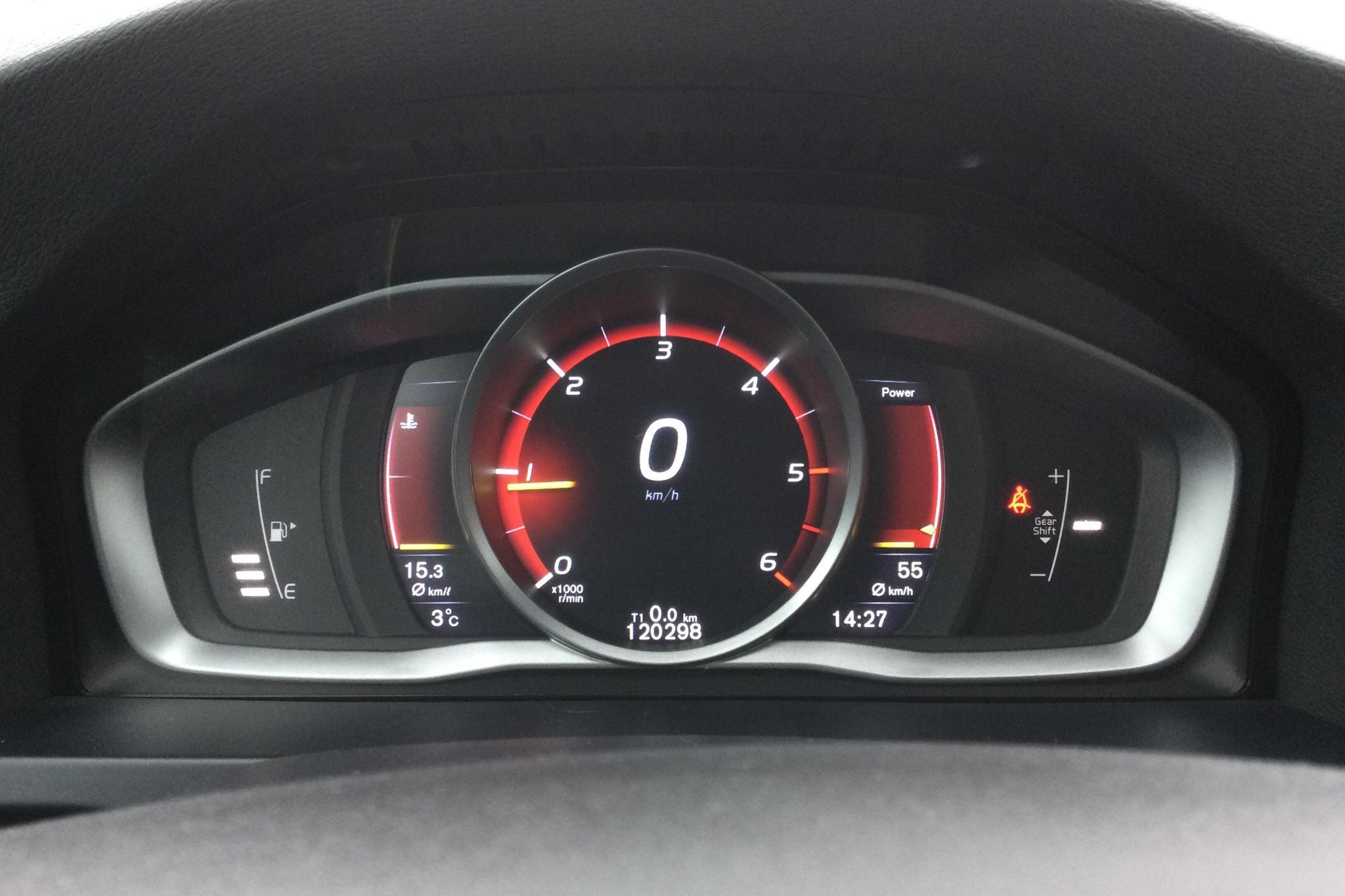 Volvo V60 D3 Cross Country (150hk) - 120 300 km - Manual - white - 2016