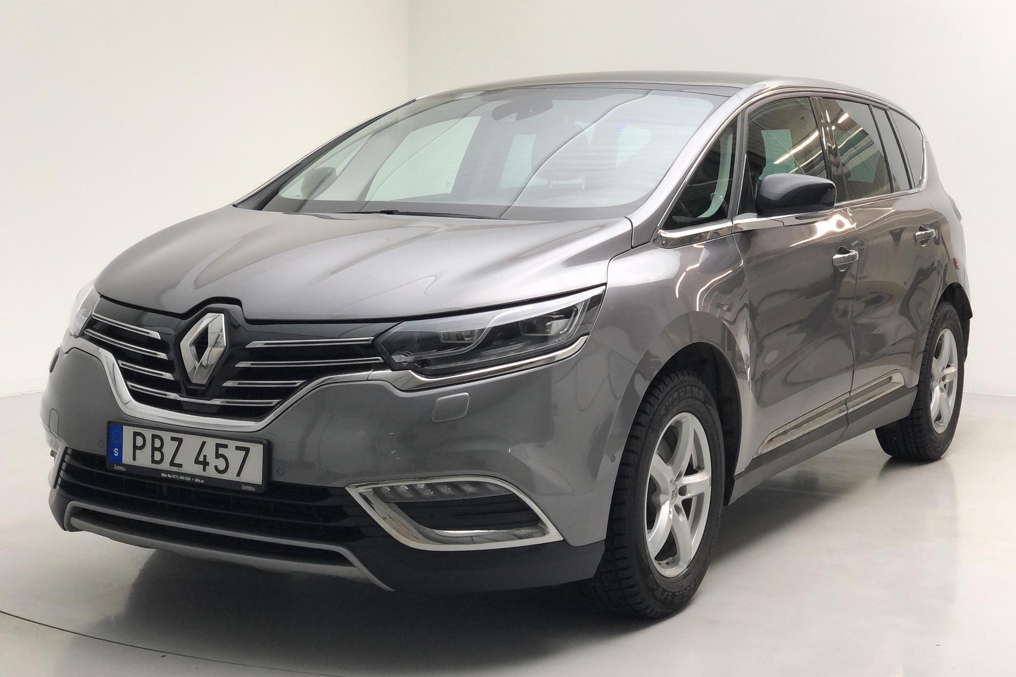 Renault Espace 1.6 dCi (160hk) - 100 030 km - Automatic - gray - 2017