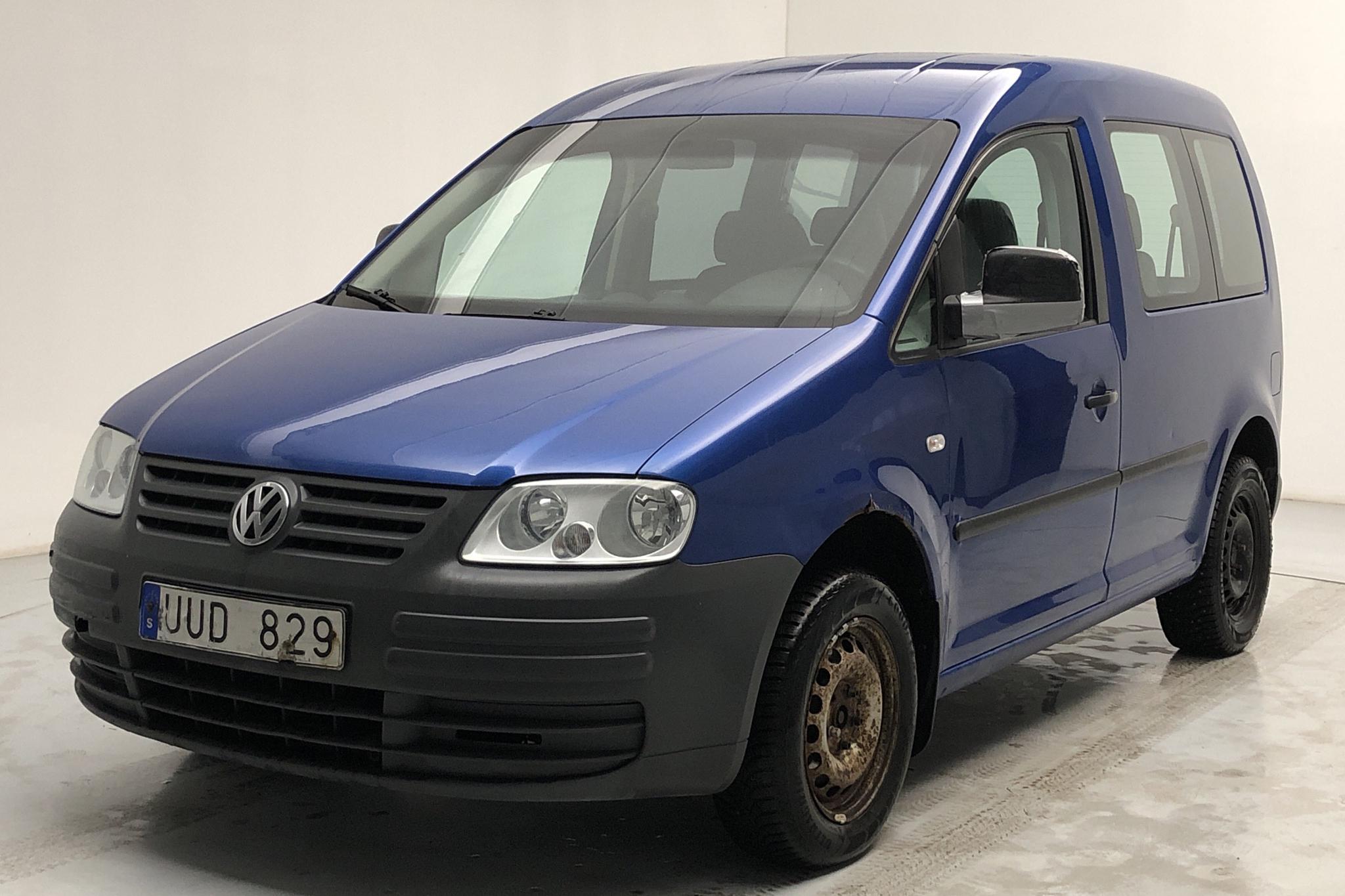 VW Caddy Life 1.4 (75hk) - 30 145 mil - Manuell - blå - 2004