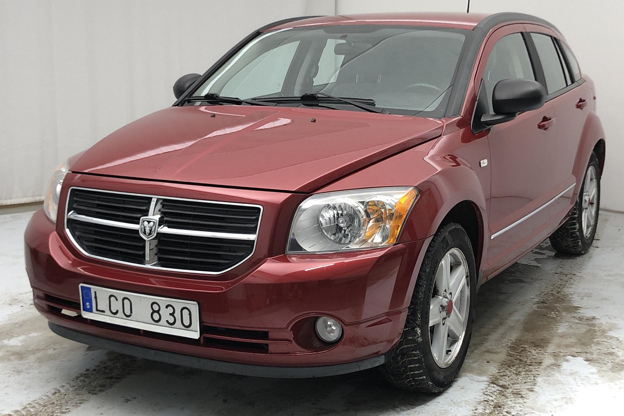 Dodge Caliber 2.0 (156hk) - 93 360 km - Manual - red - 2010