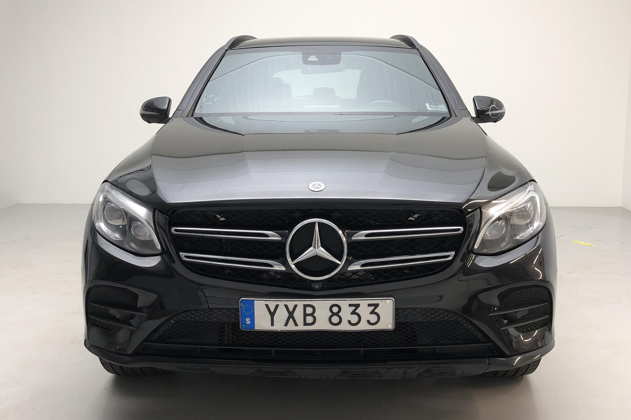 Mercedes GLC 250 4MATIC X253 (211hk) - 71 720 km - Manual - black - 2018