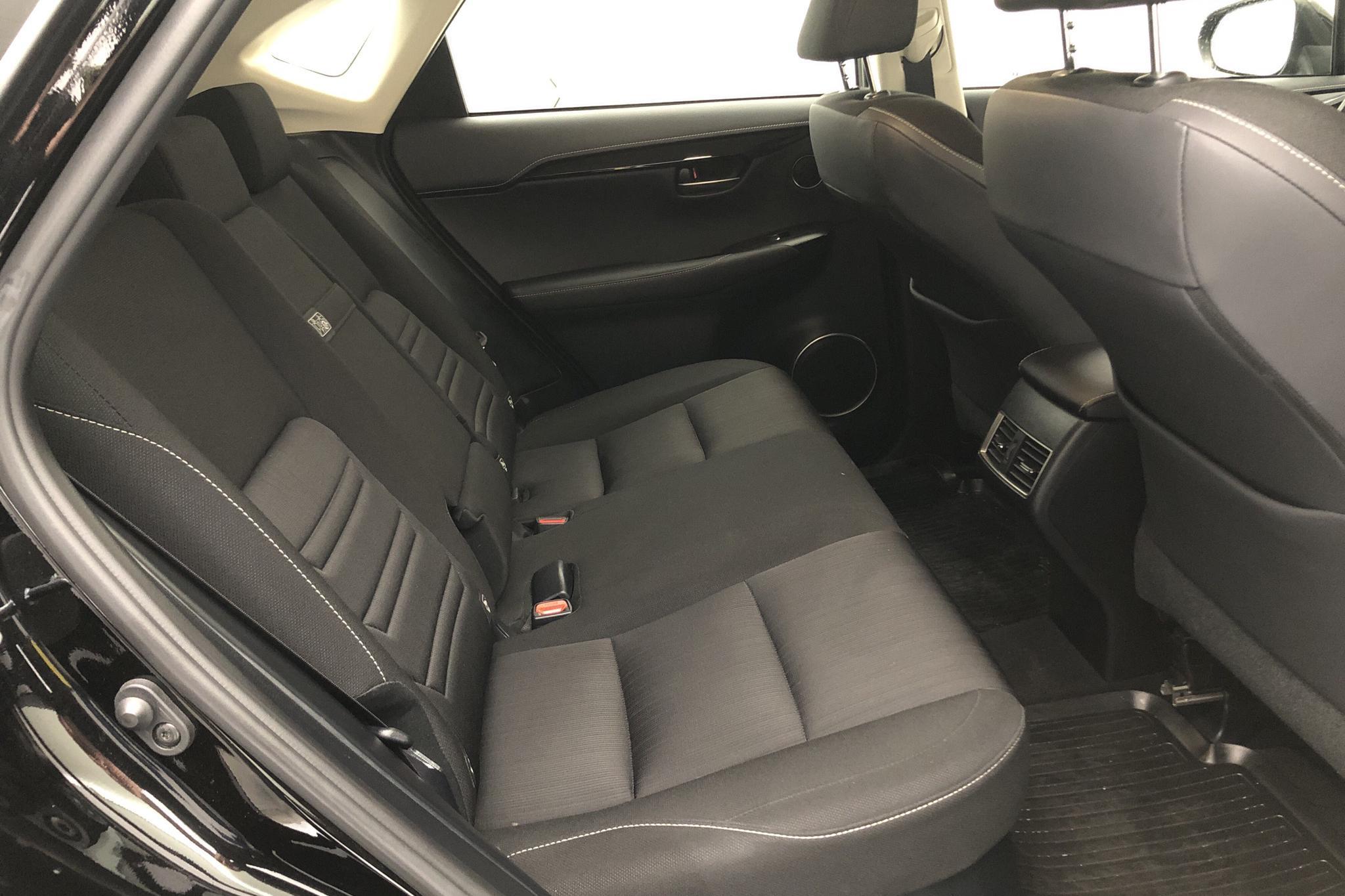 Lexus NX 300h (197hk) - 65 630 km - Automatic - black - 2018